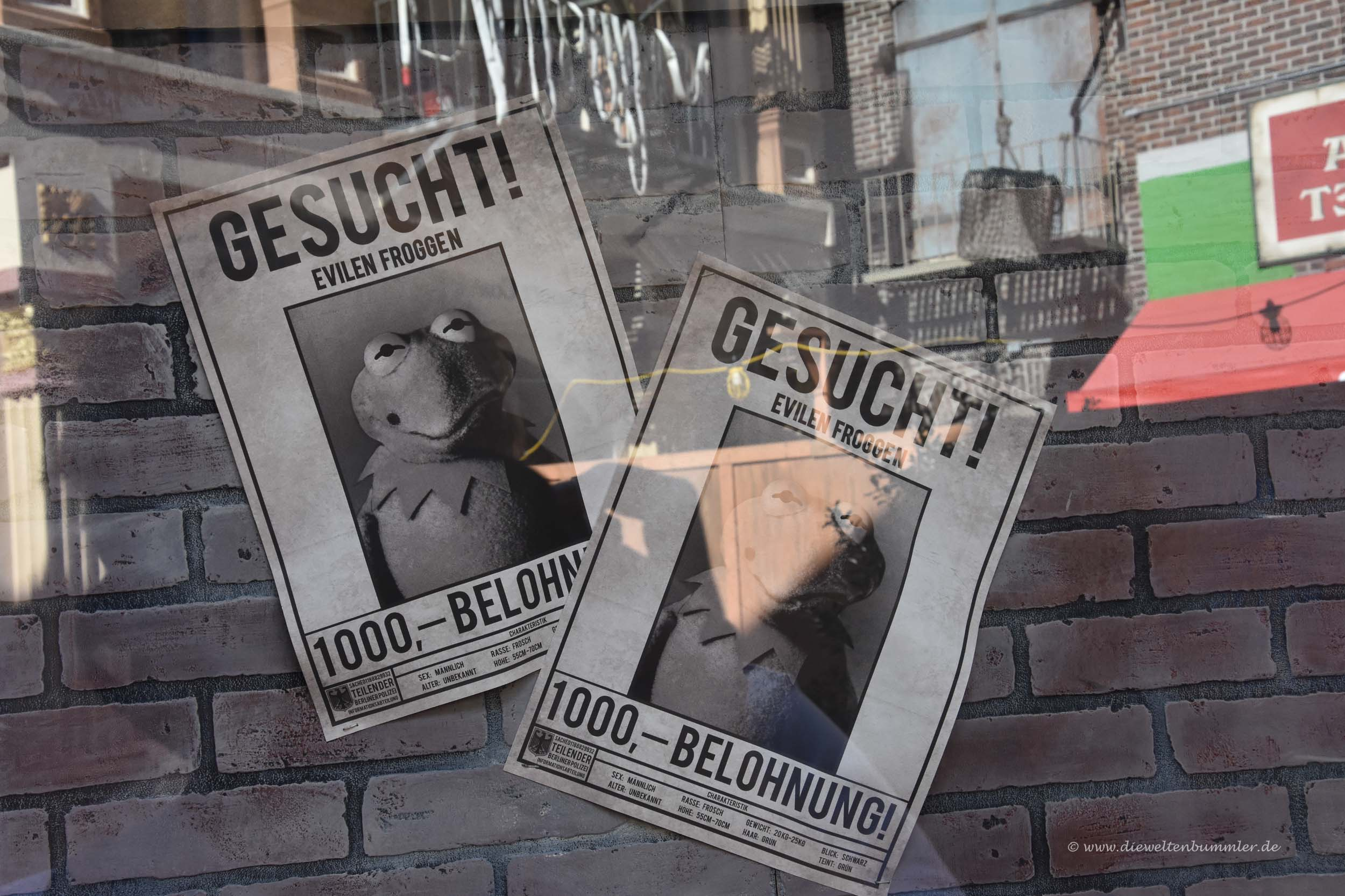Deutsches Wanted-Plakat