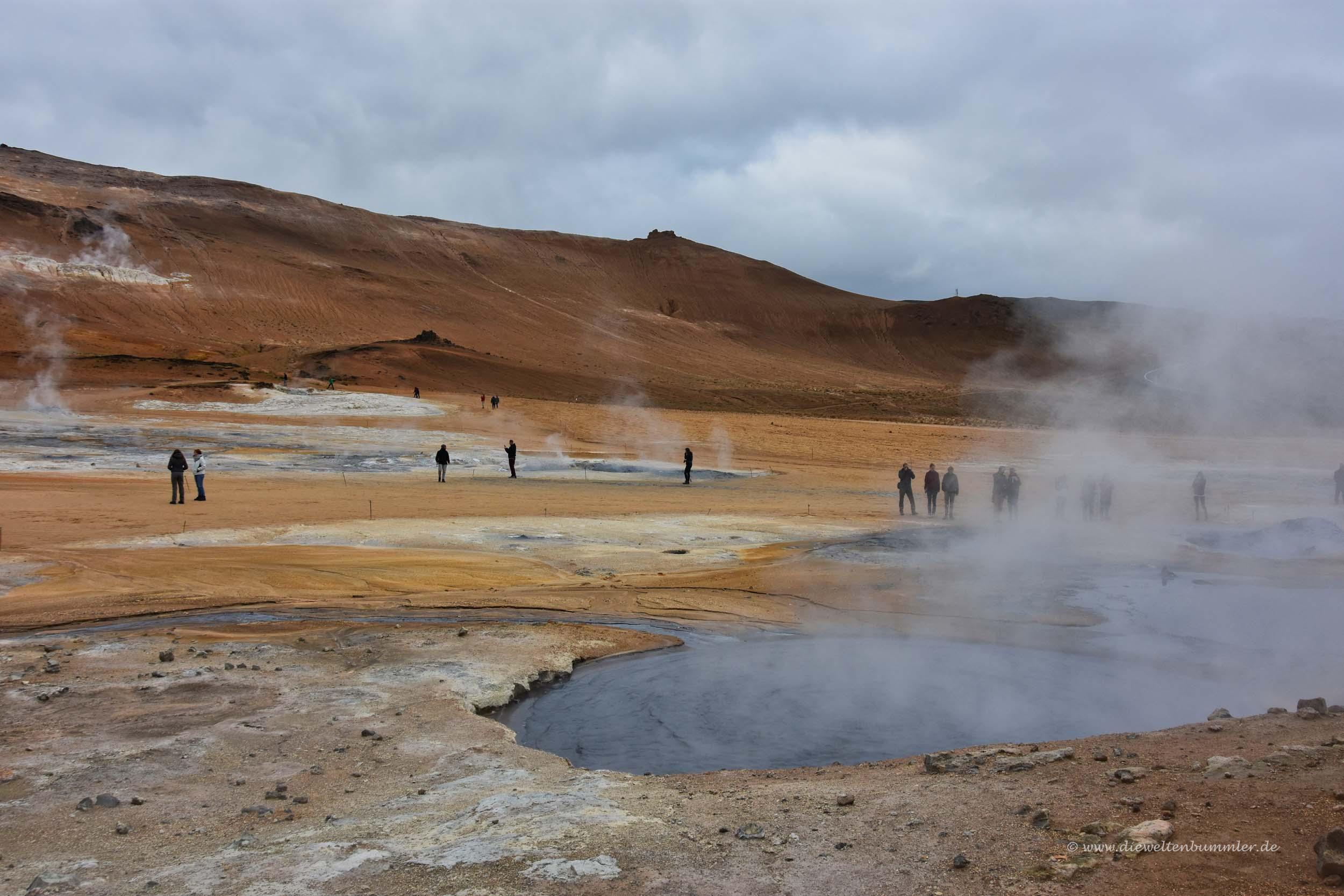 Hverarönd in Island