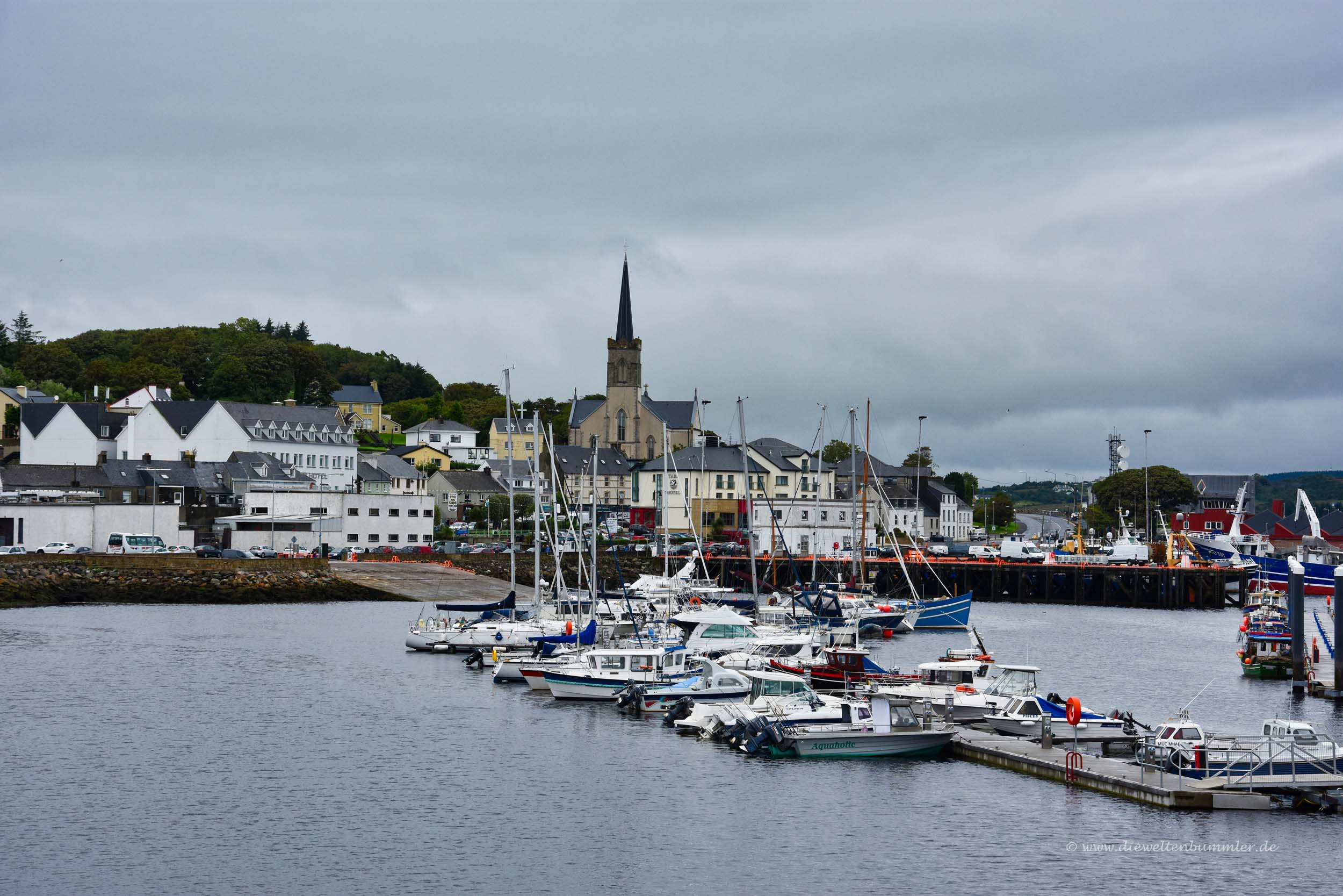 Killybegs in Irland