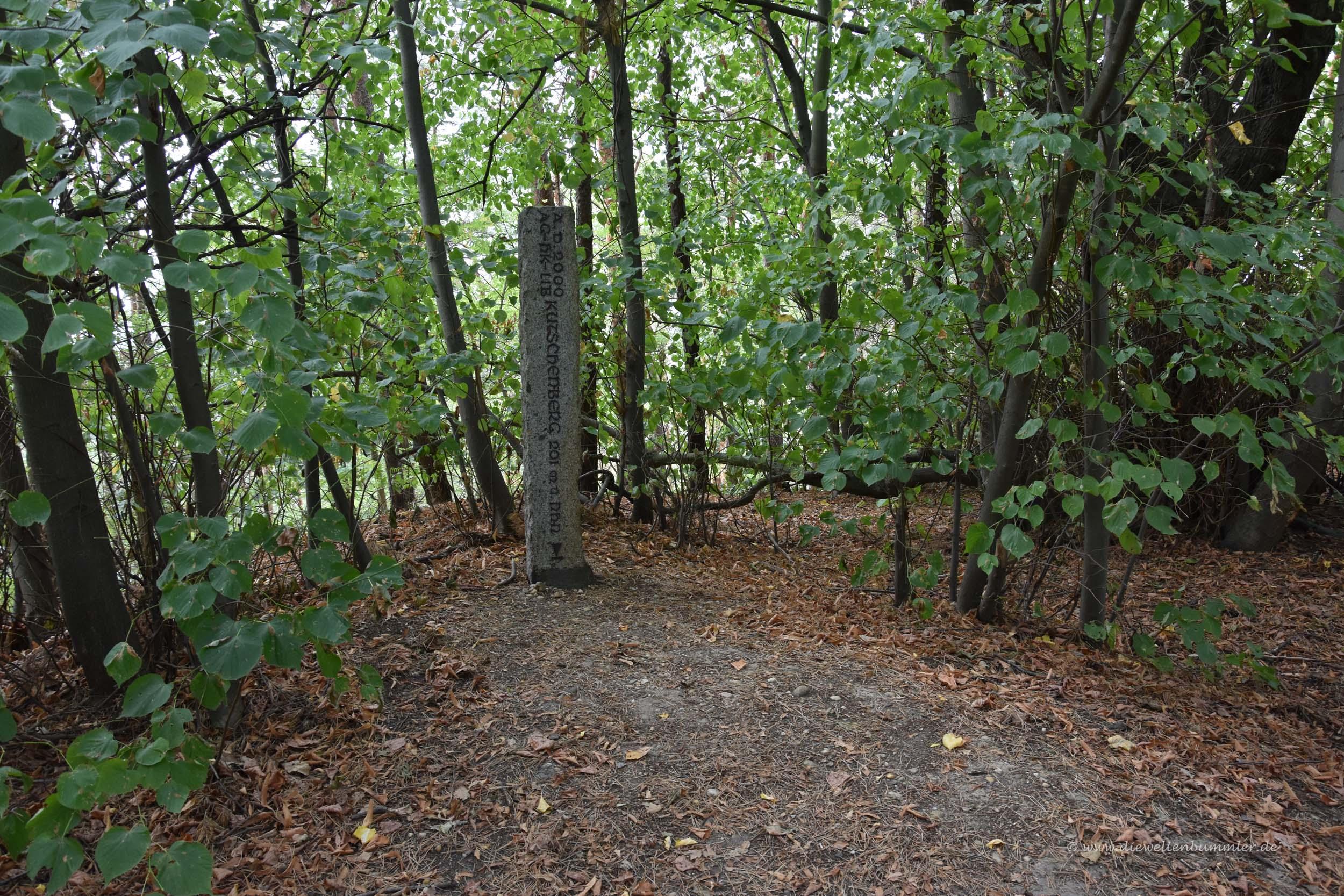 Stele auf dem Kutschenberg