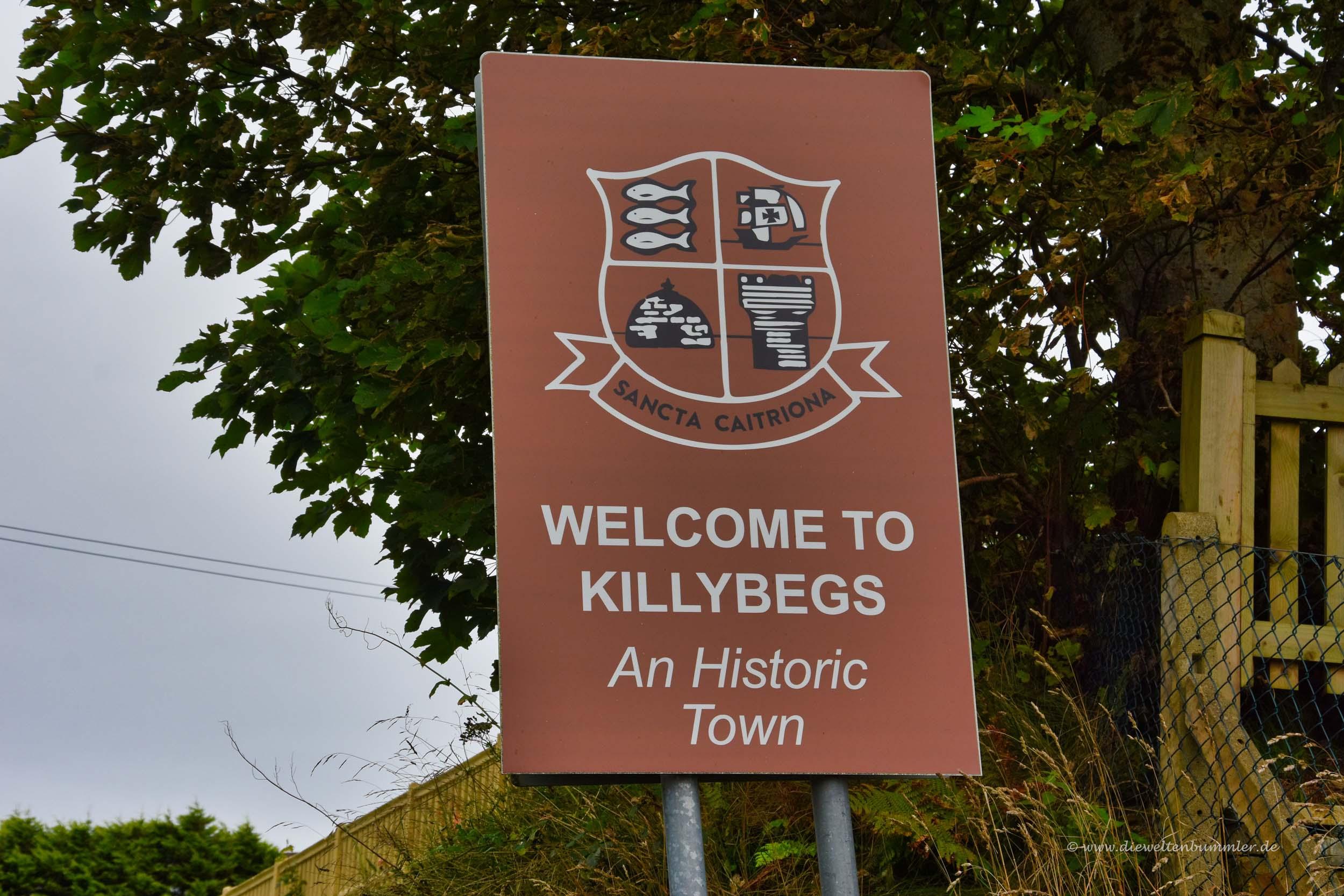 Willkommen in Killybegs
