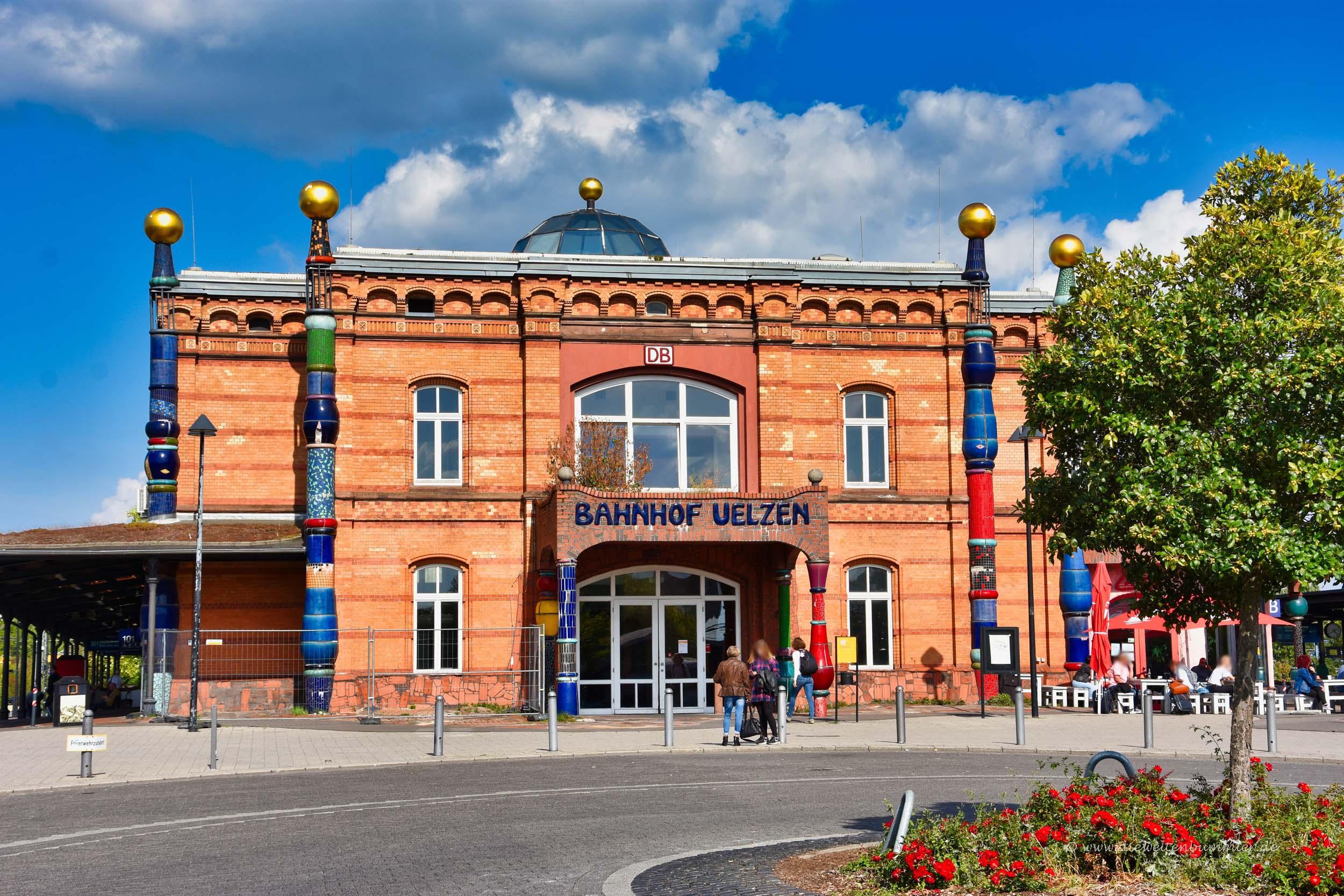 Bahnhof in Uelzen