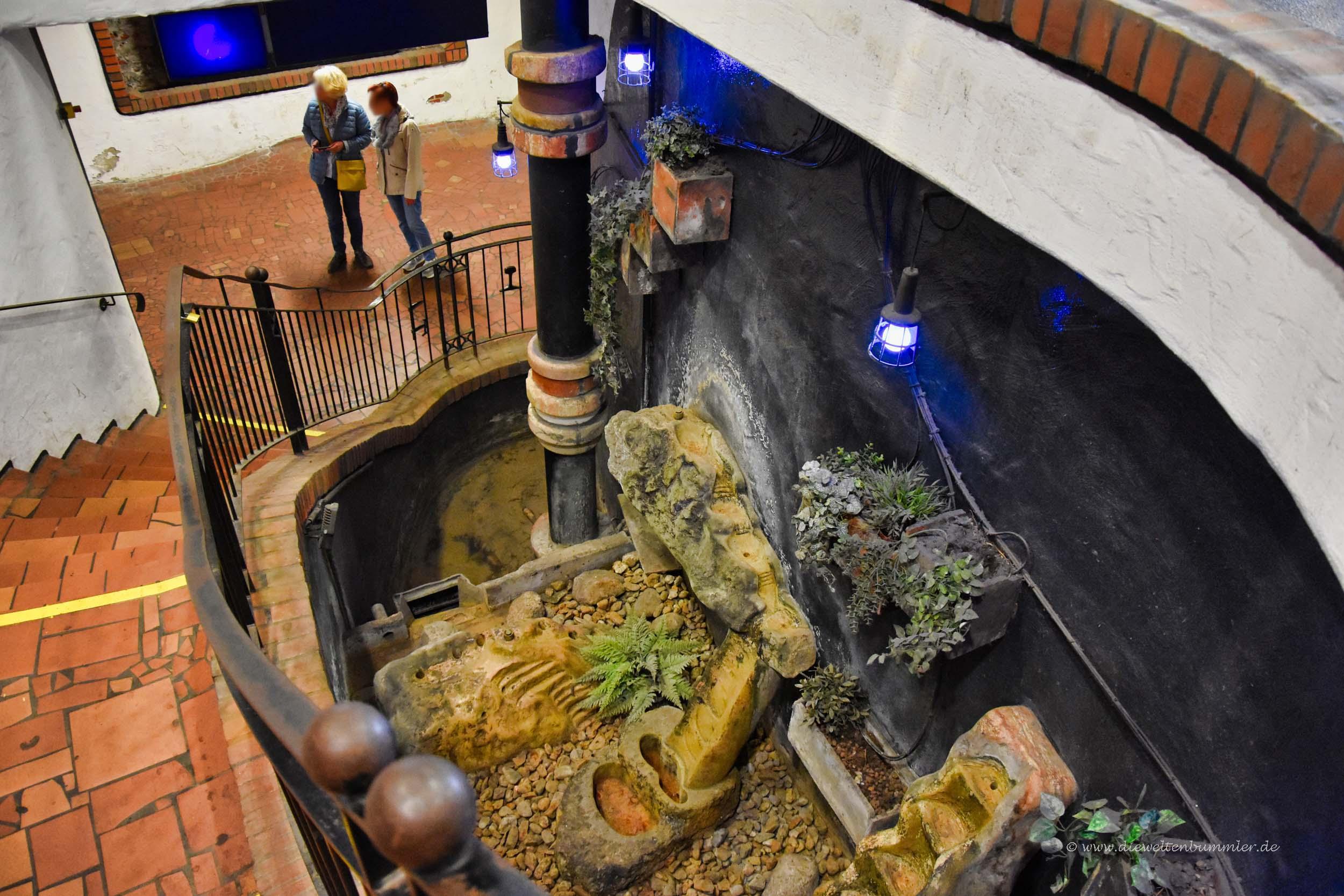 Brunnen im Bahnhof