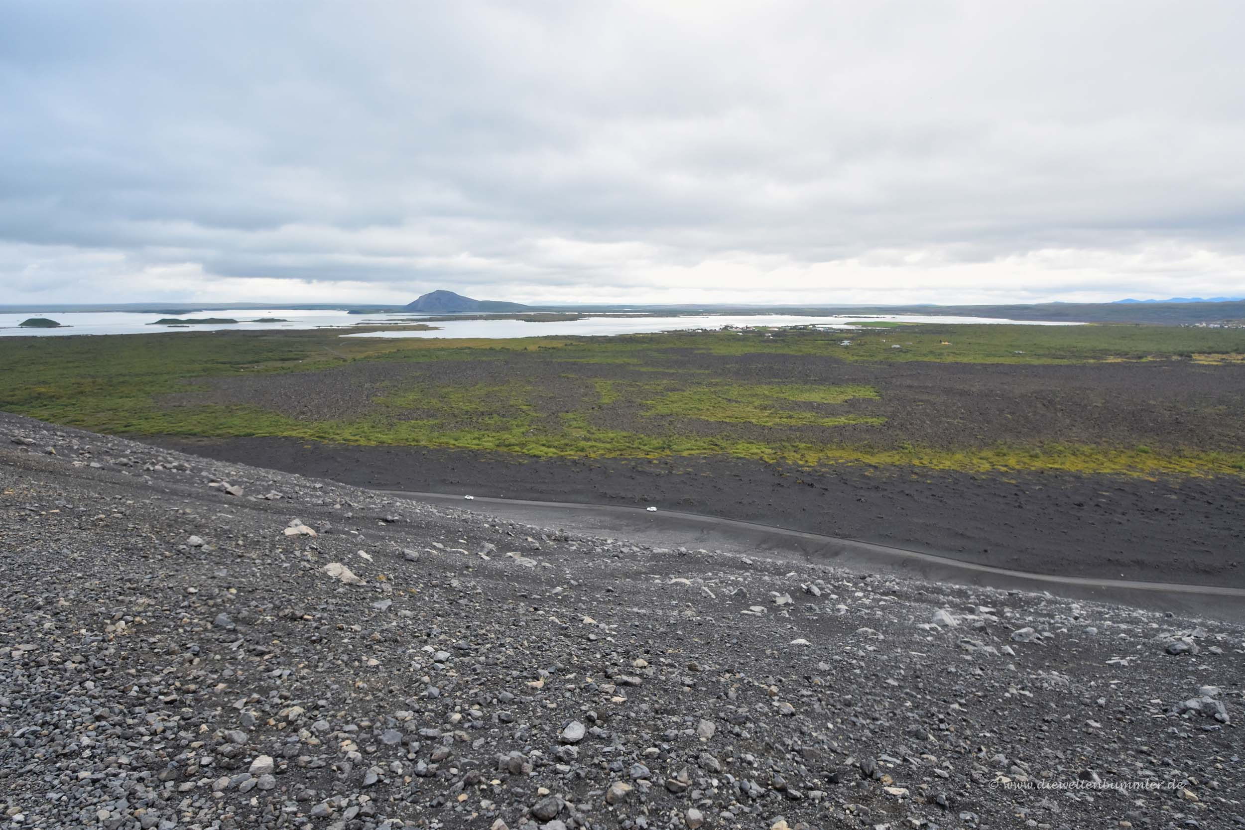 Der Mývatn in Island