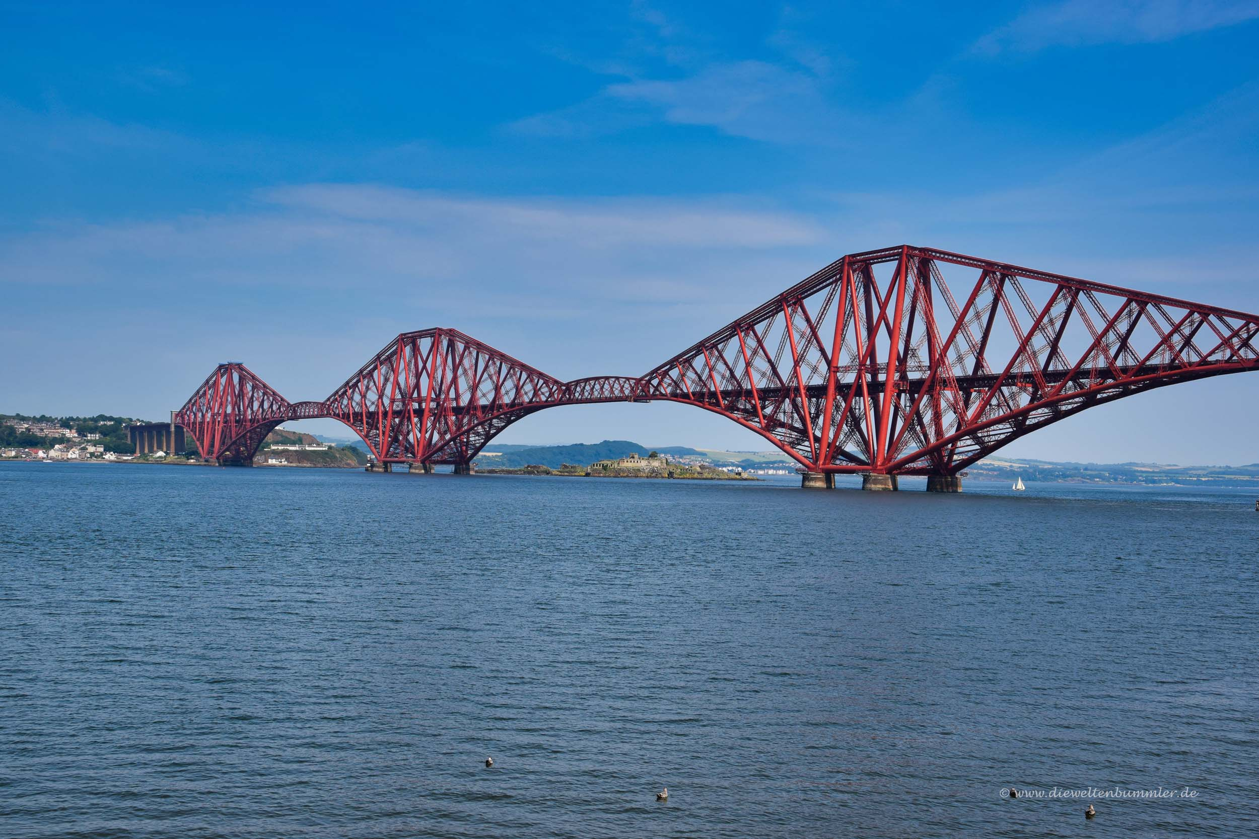 Forth Bridge bei Edinburgh
