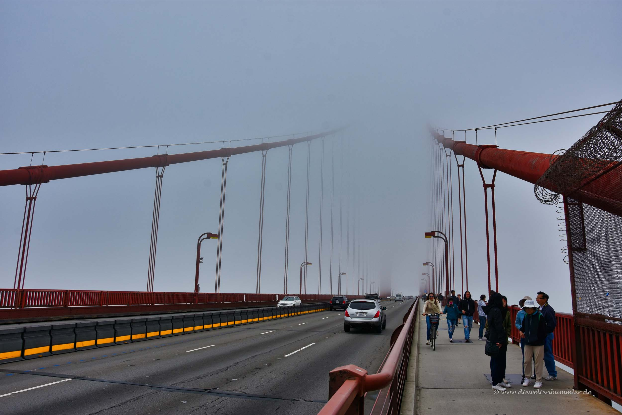 Golden Gate im Nebel