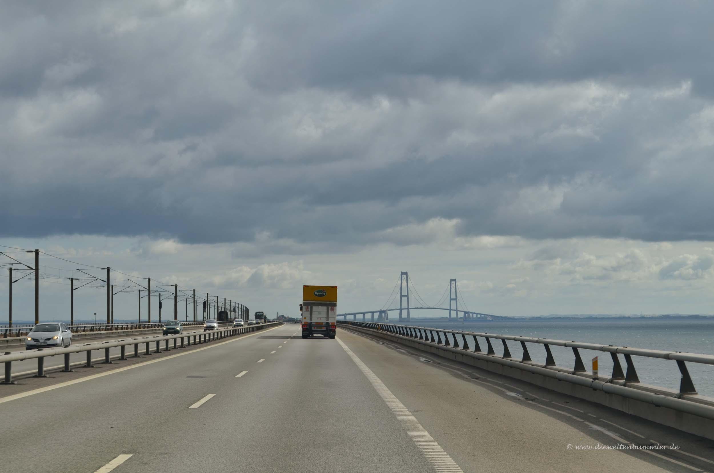 Große-Belt-Brücke in Dänemark
