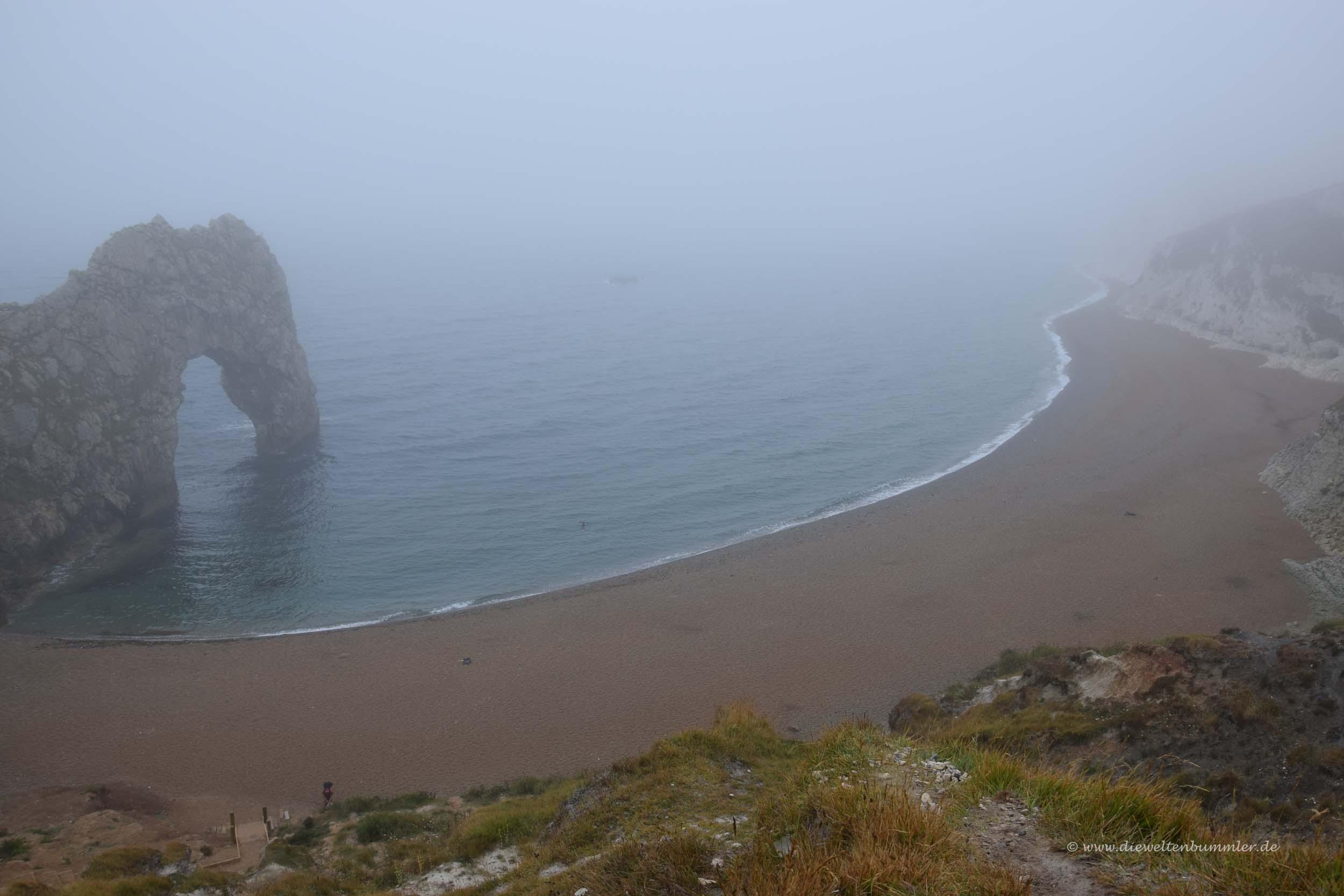 Im Nebel lohnt es sich kaum
