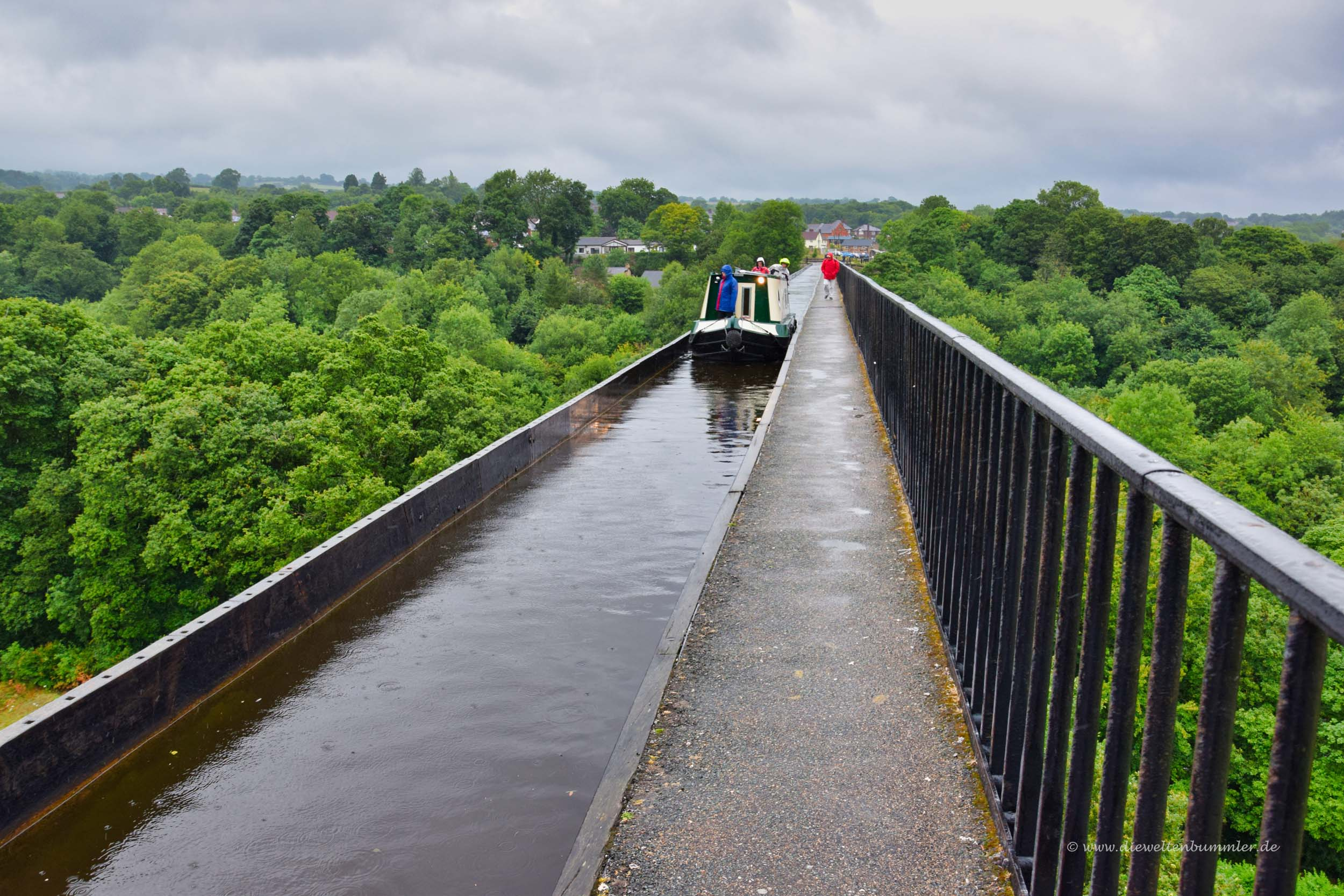 Pontcysyllte Brücke in Wales