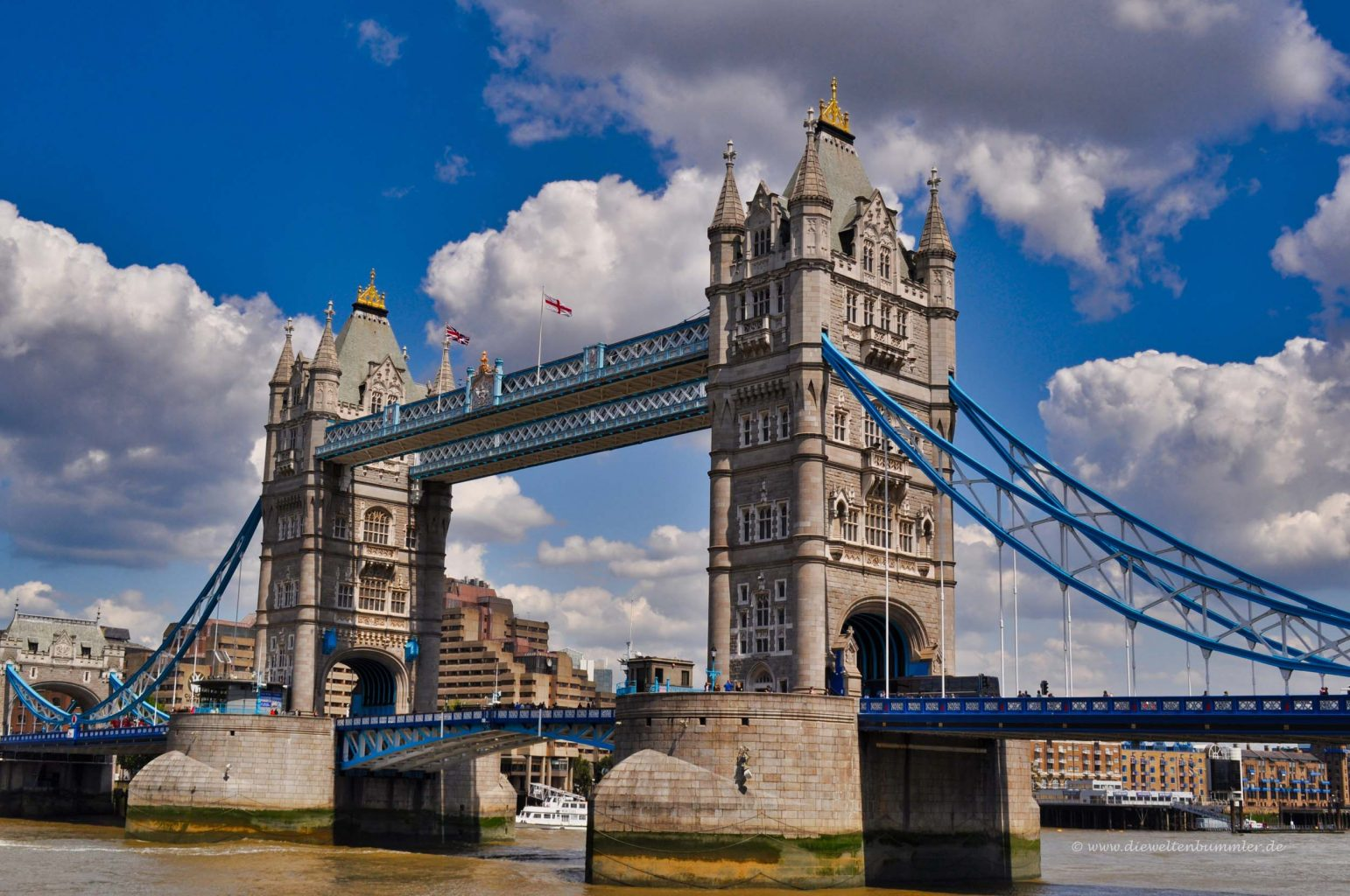 Tower Bridge in London | Die Weltenbummler