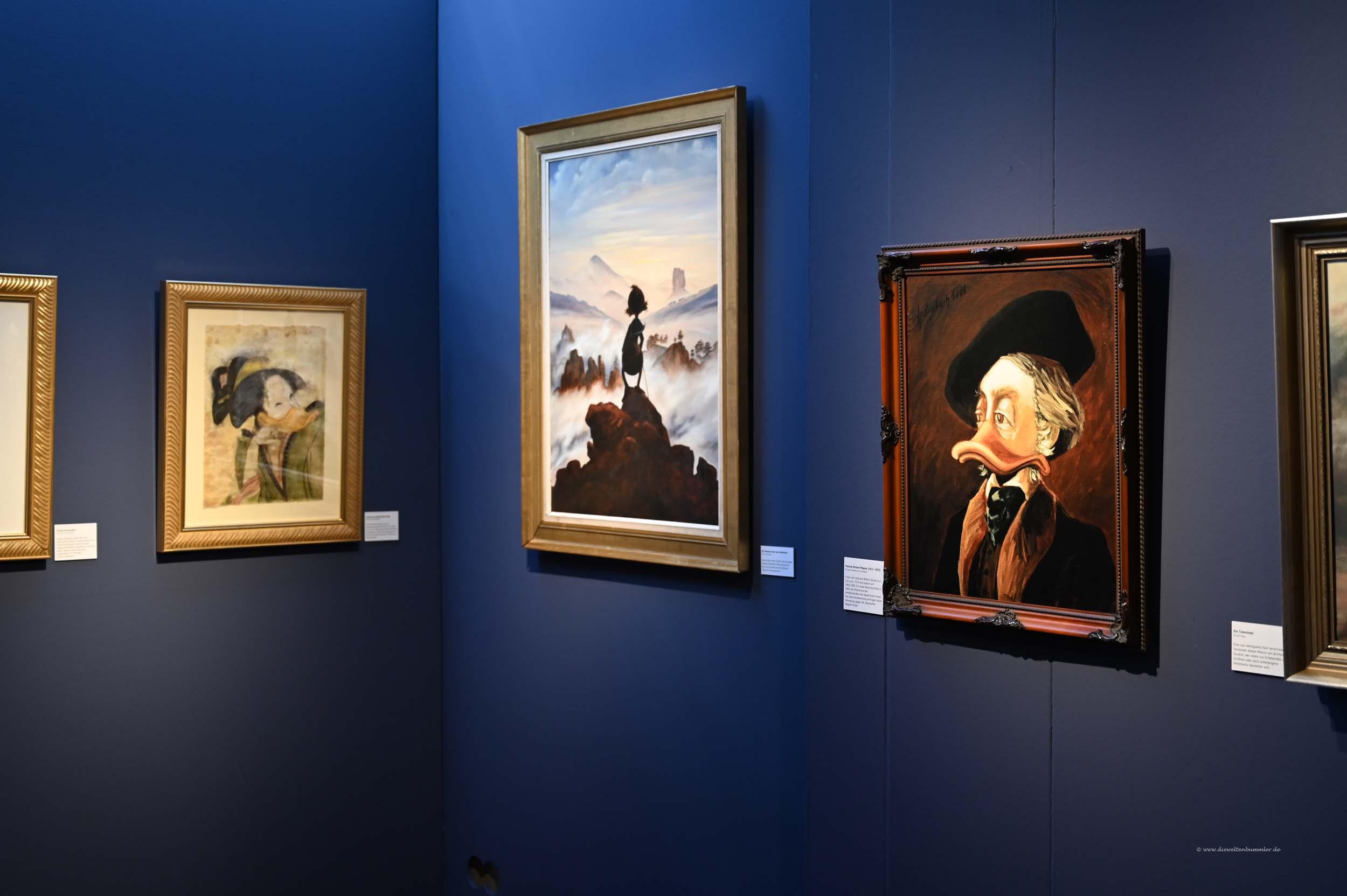 Gemäldegalerie der Enten
