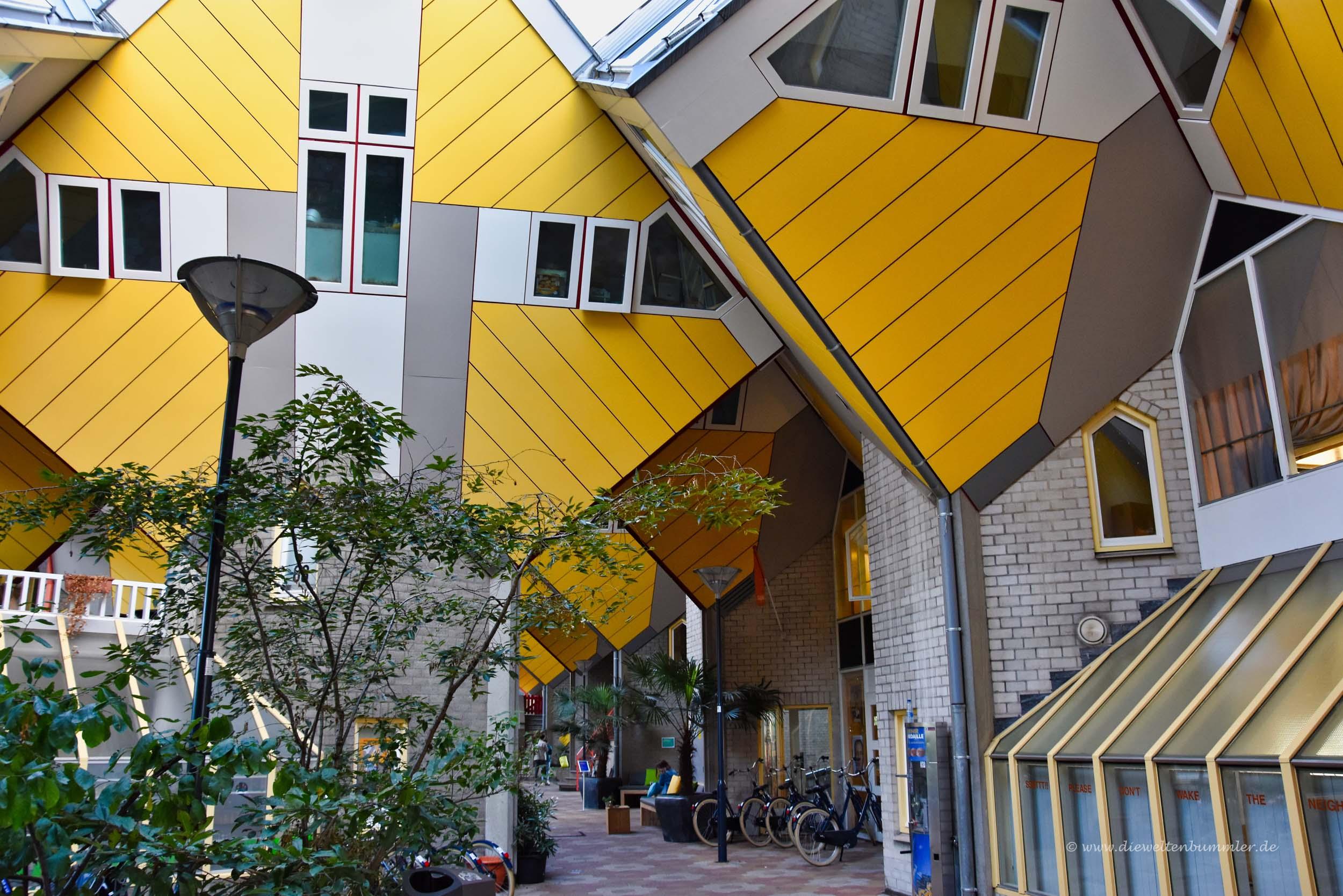 Wohnviertel der Kubushäuser