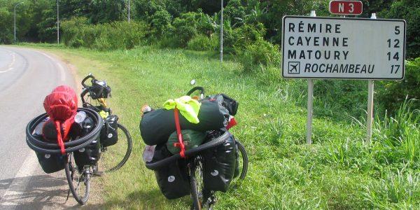 Auf dem Weg nach Cayenne