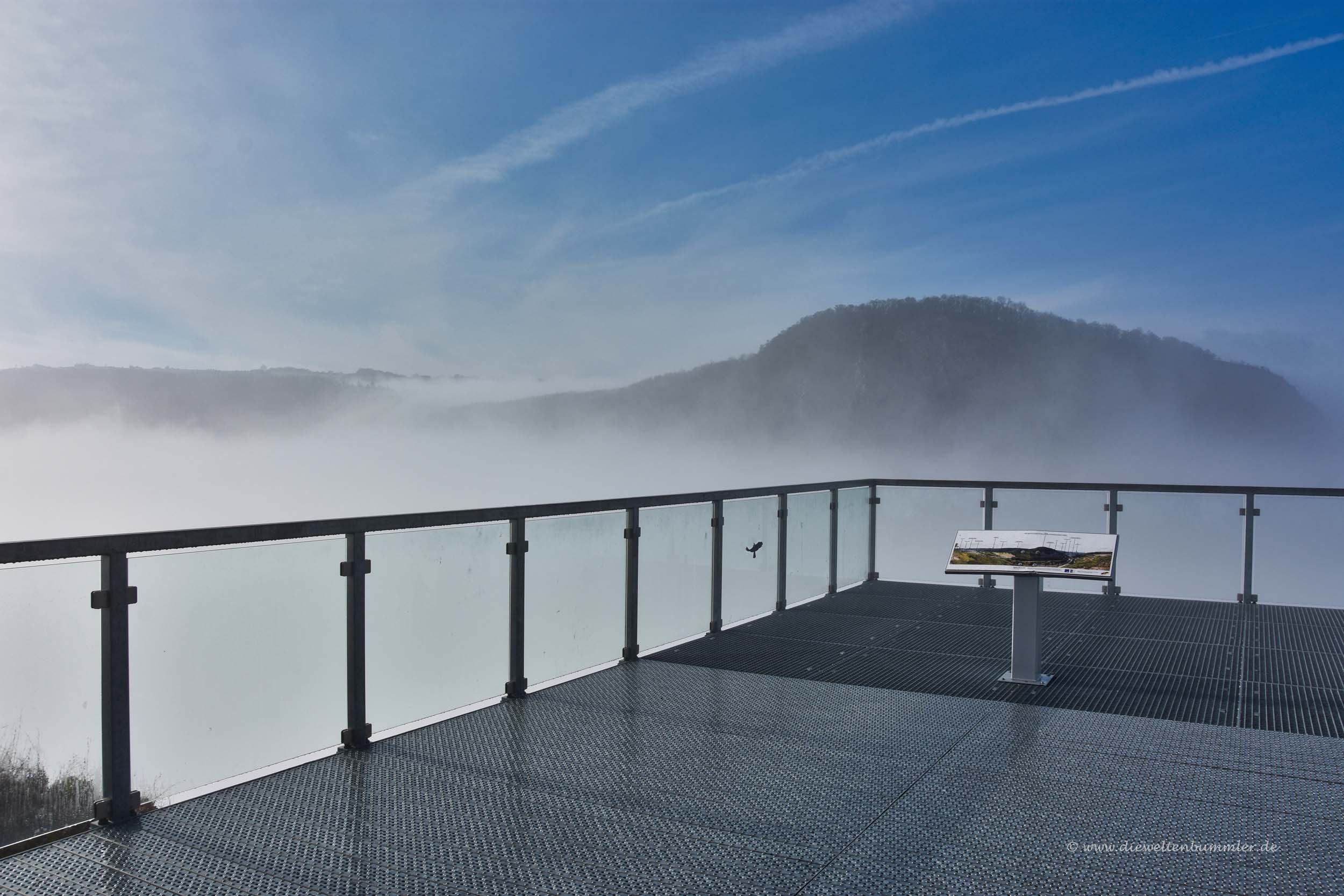 Nebel am Nahe-Skywalk