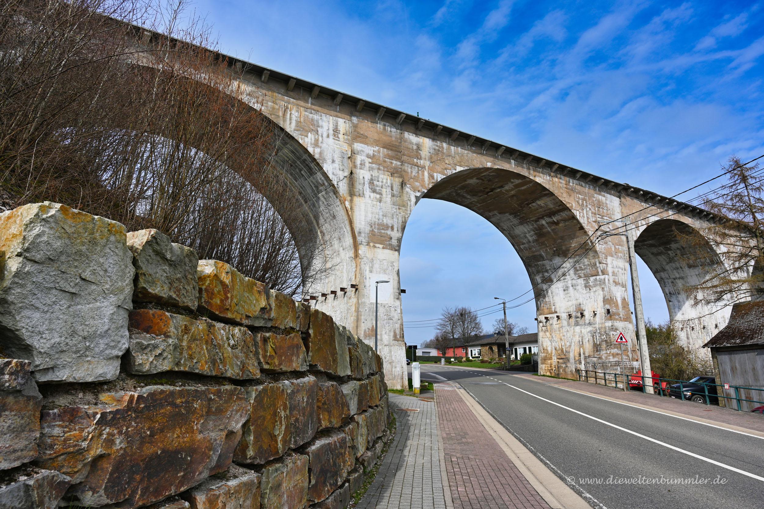 Viadukt in Belgien