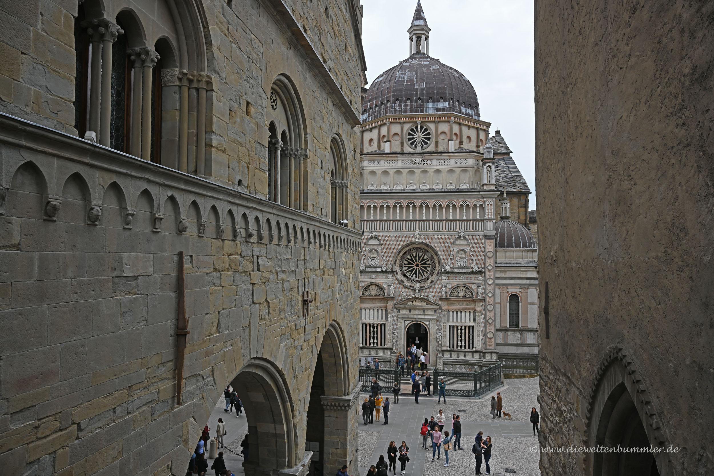 Altstadt in Bergamo