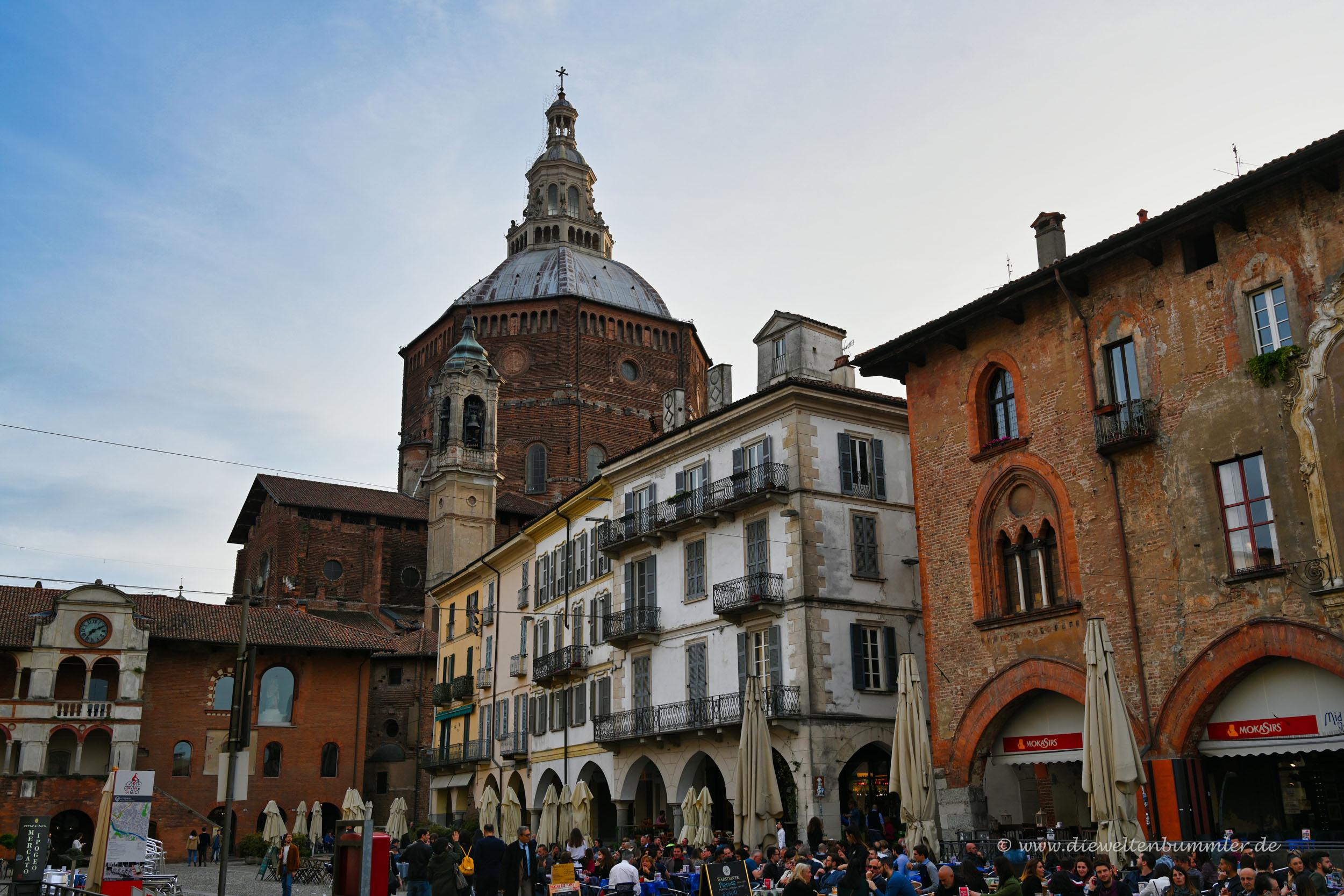 Altstadt in Pavia