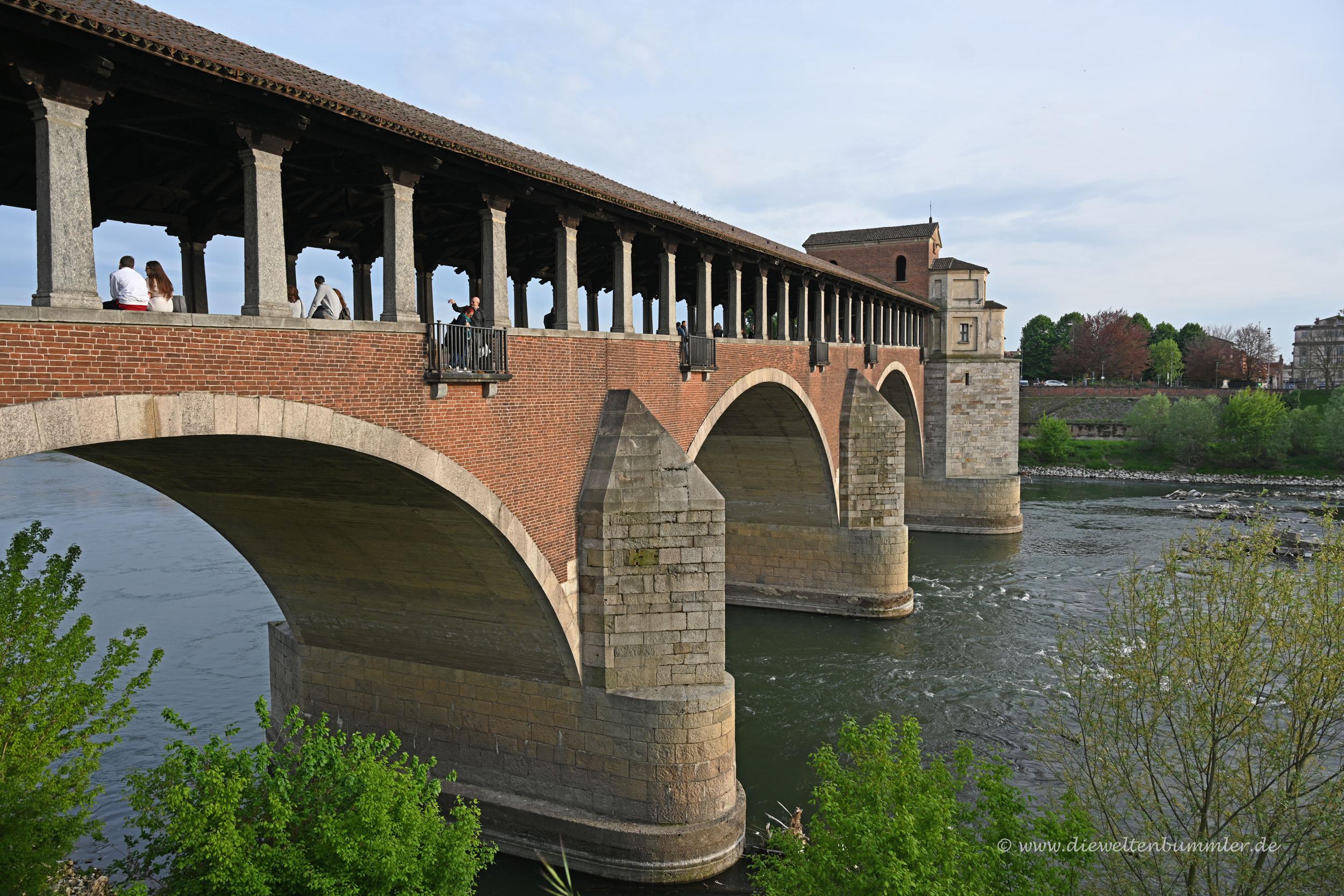 Brücke in Pavia