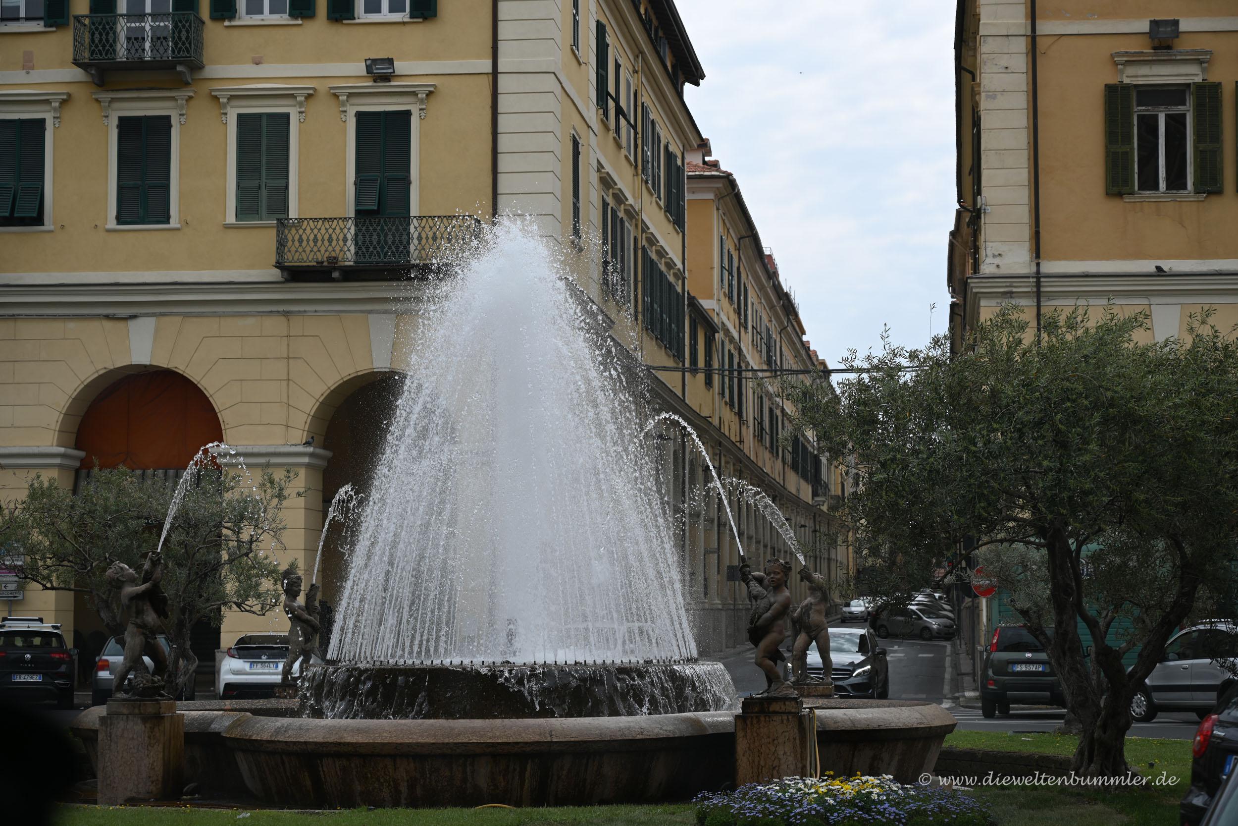 Brunnen in Imperia