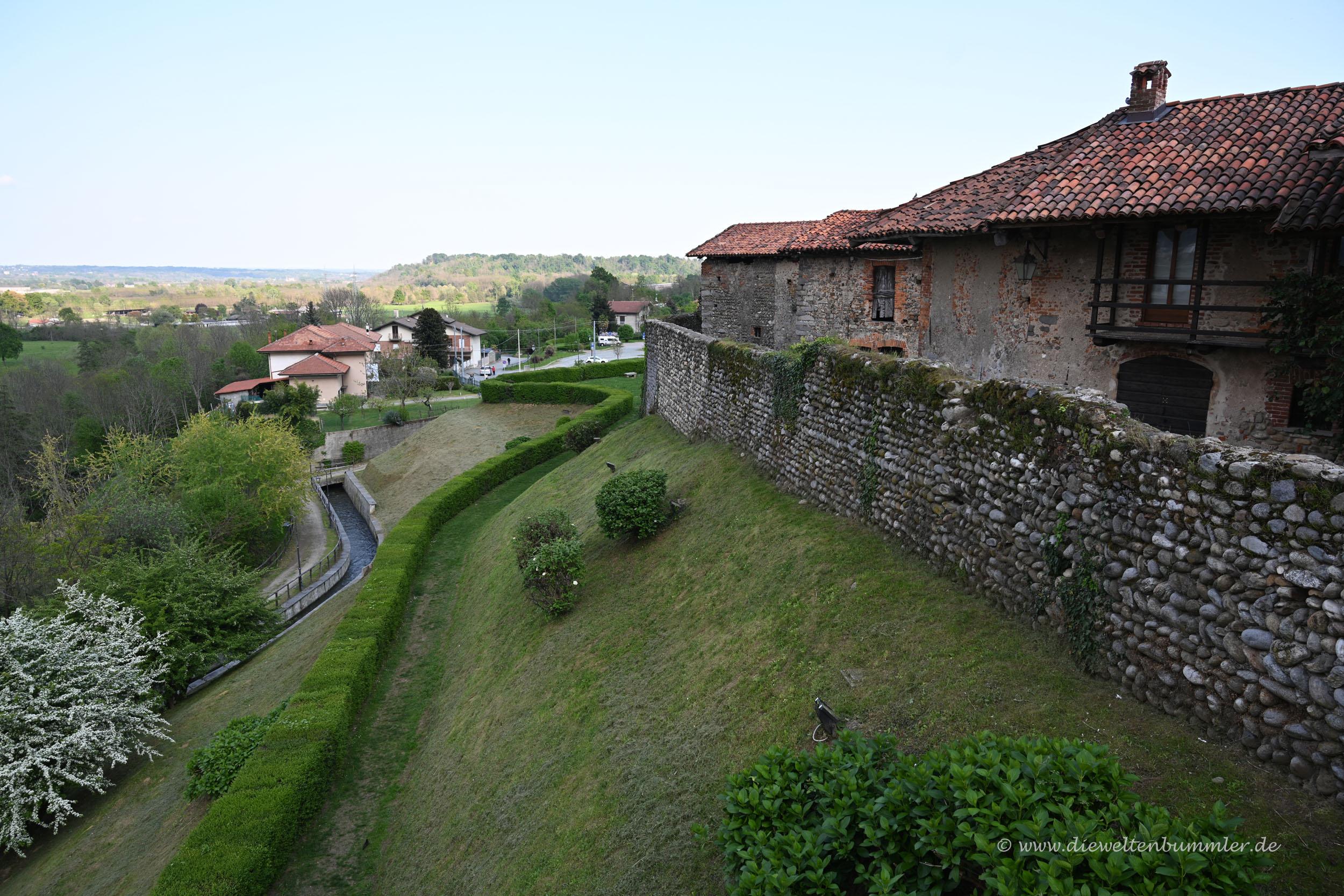 Festungsmauer von Candelo
