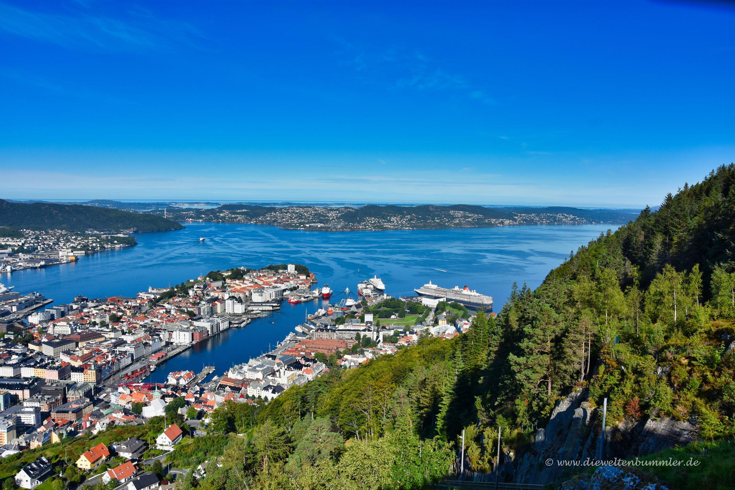 Fjordlandschaft bei Bergen
