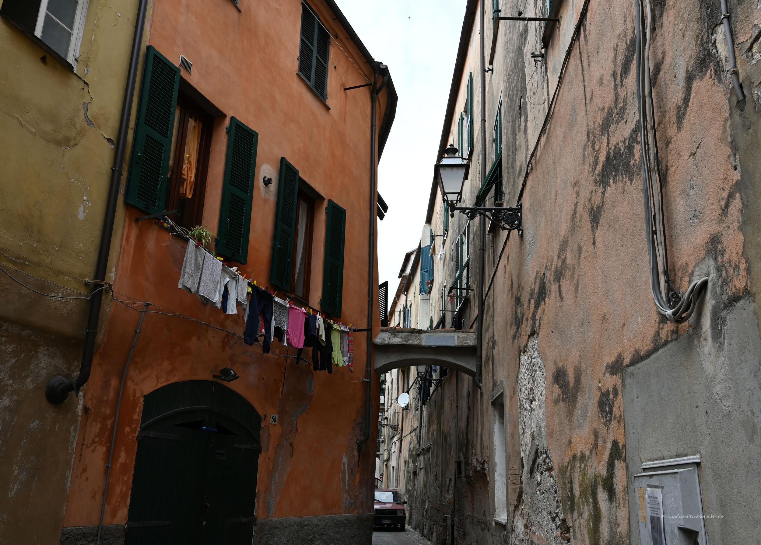Gasse in Albenga