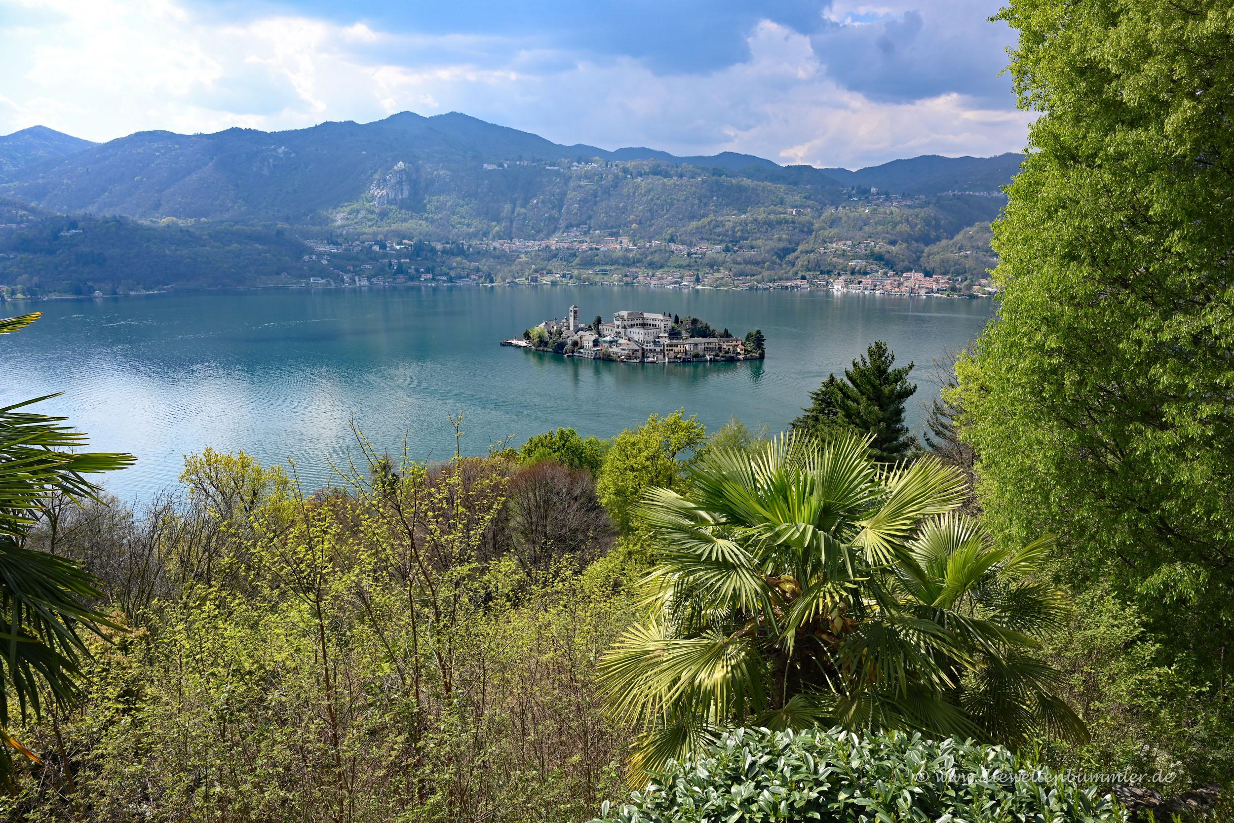 Insel im Lago Orta