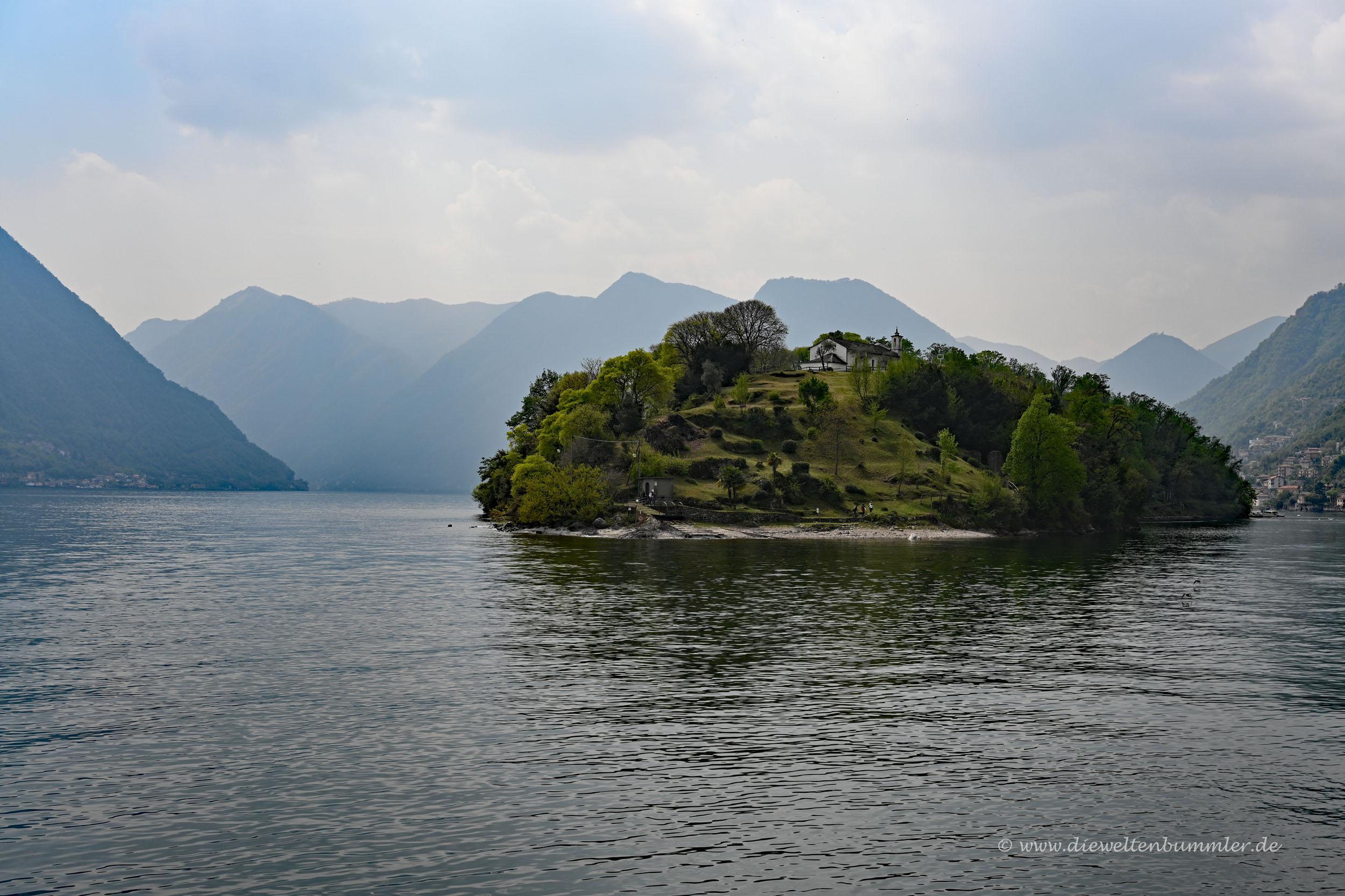 Isola Comacina im Comer See