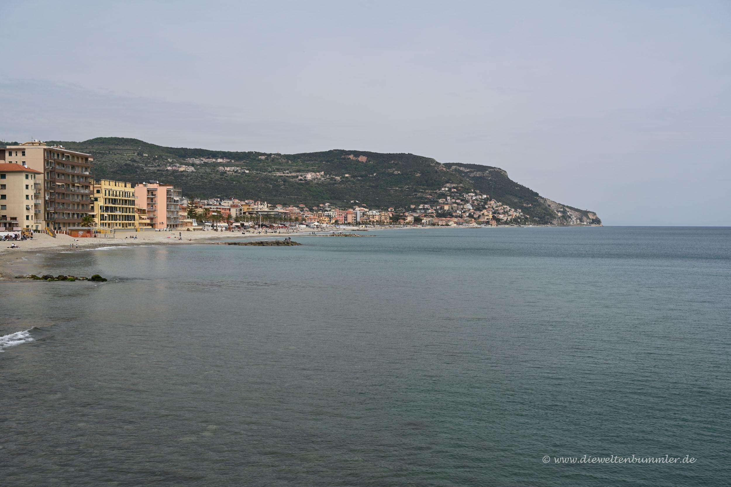 Küste bei Pietra Ligure