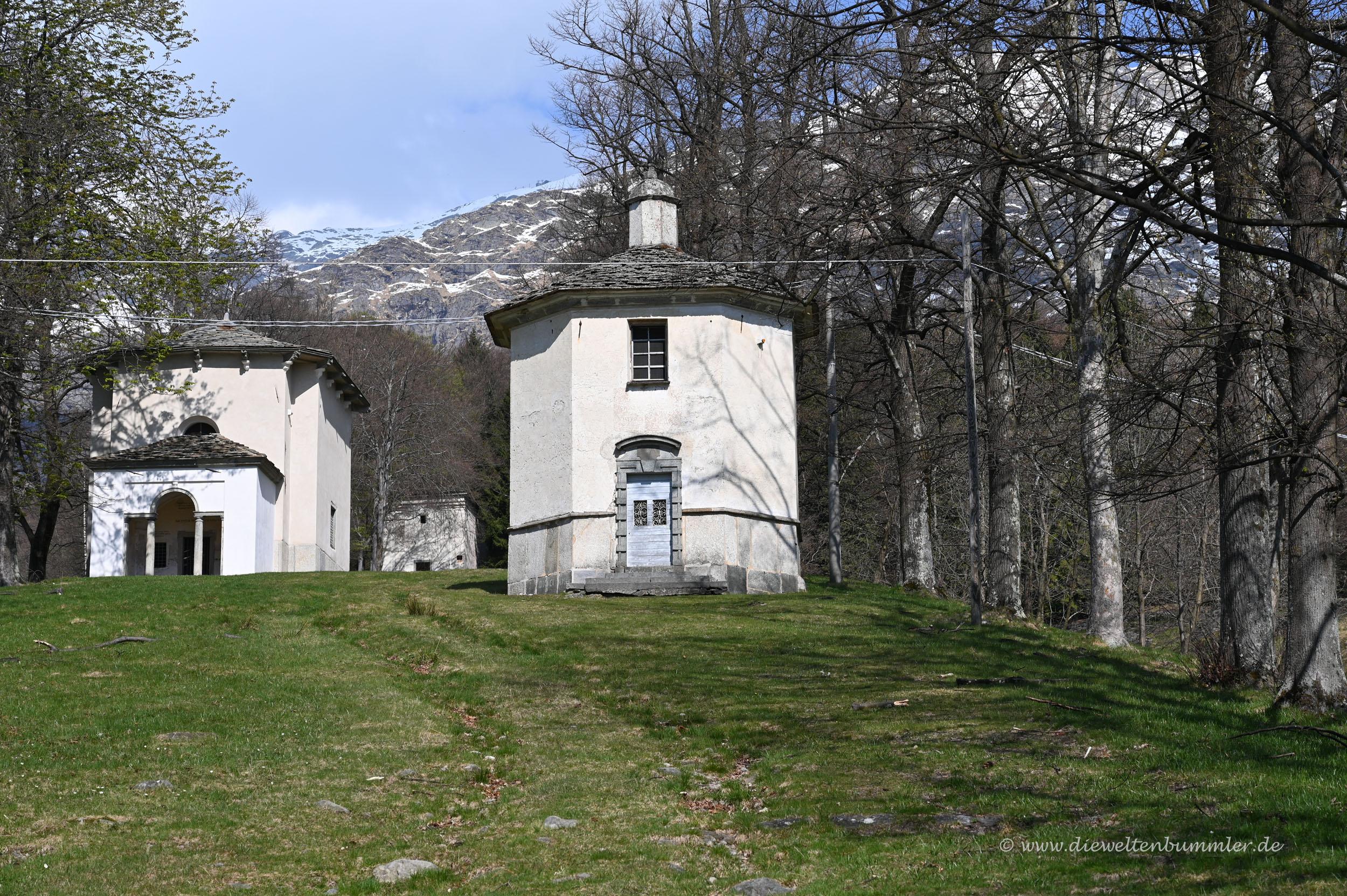 Kapellen in Oropa