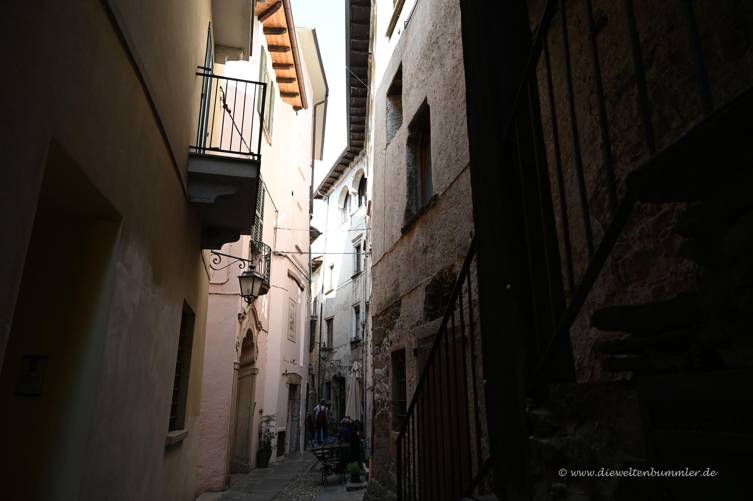 Kleine Gasse in Orta San Giulio