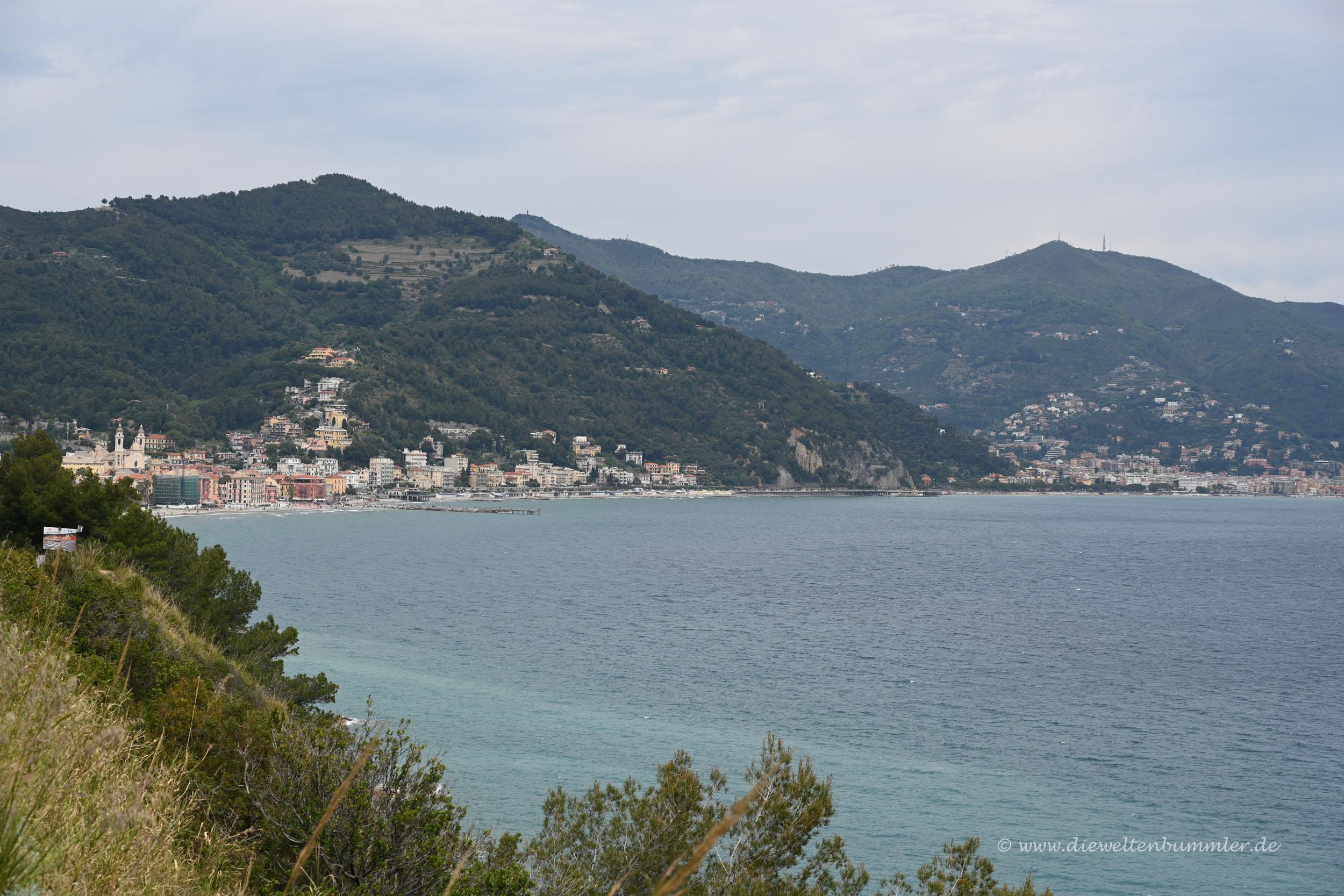 Mittelmeer in Ligurien