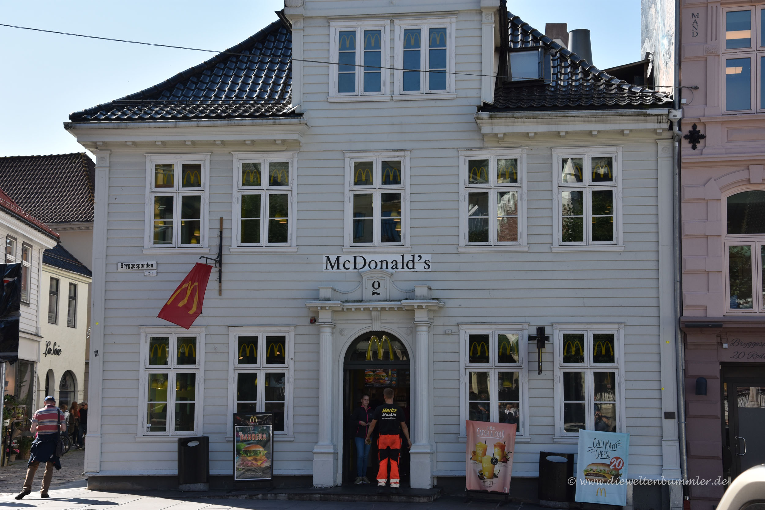Selbst McDonalds sieht anders aus