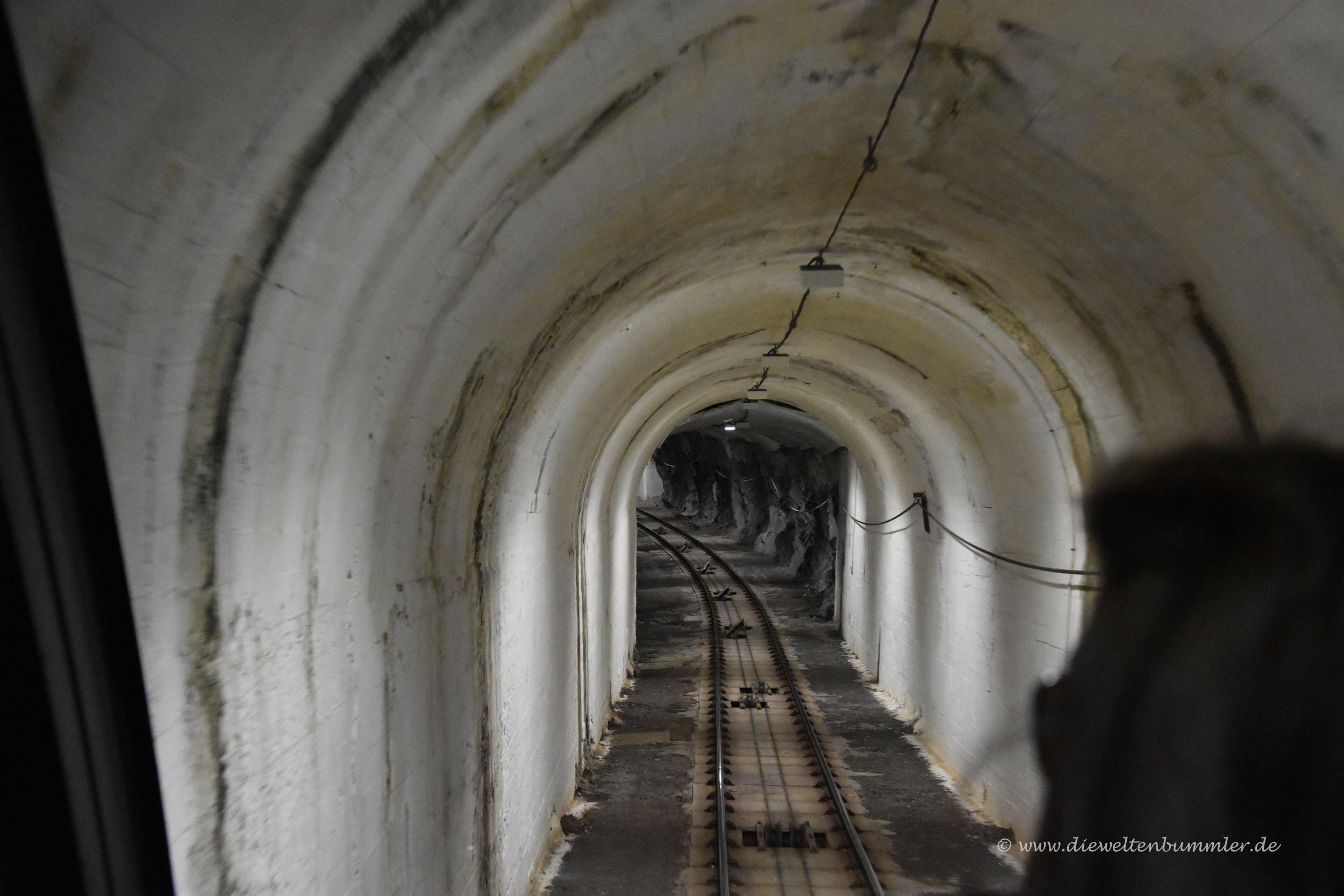 Tunnel der Fløybanen