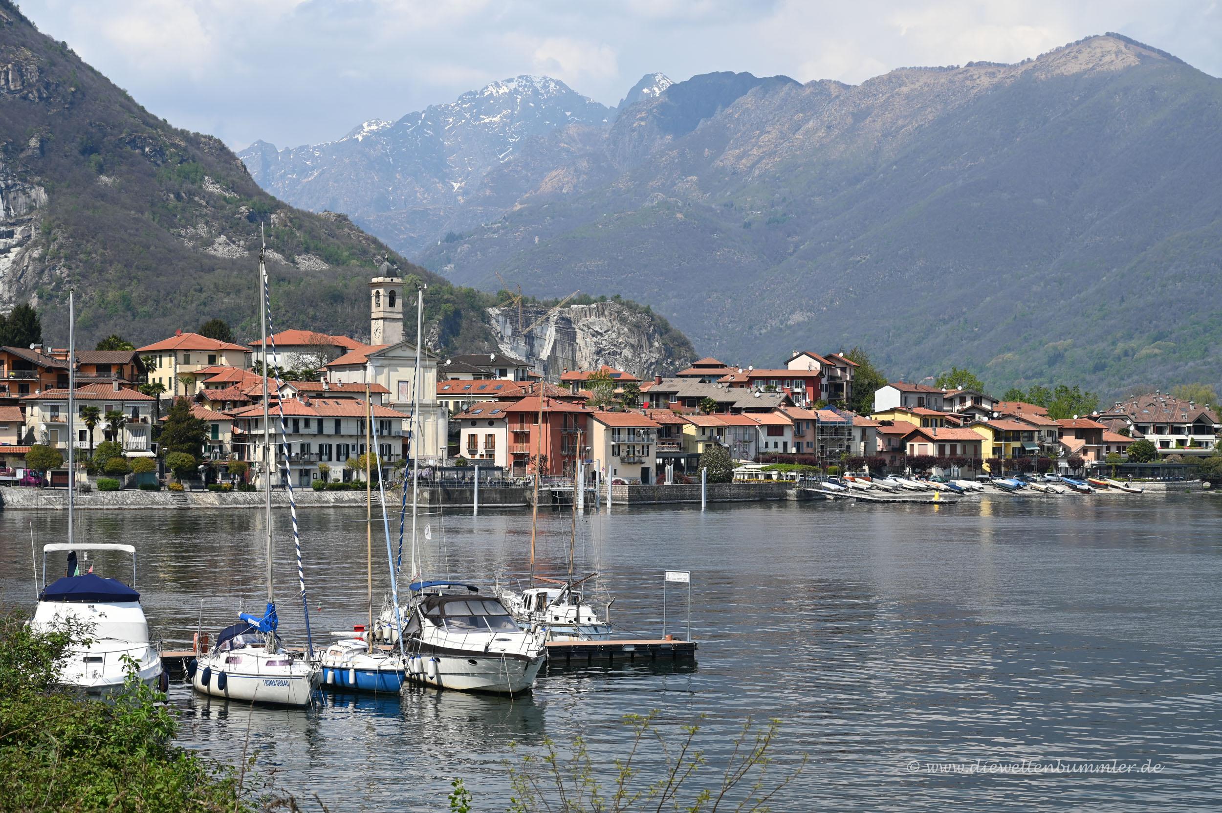 Uferlinie des Lago Maggiore