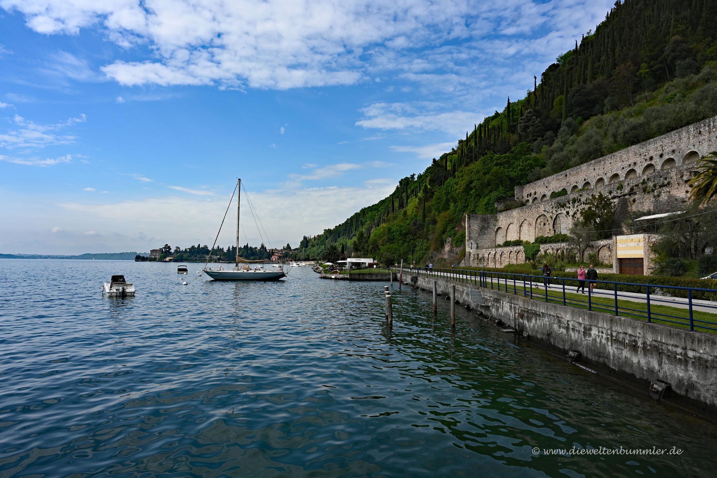 Westufer vom Gardasee