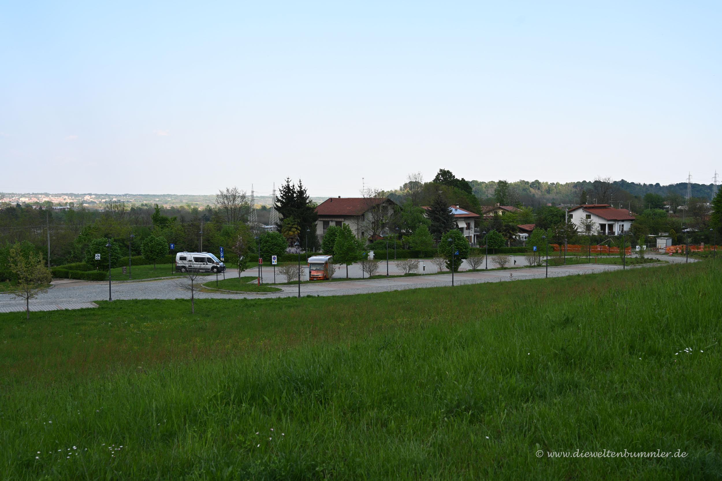 Wohnmobilstellplatz Candelo