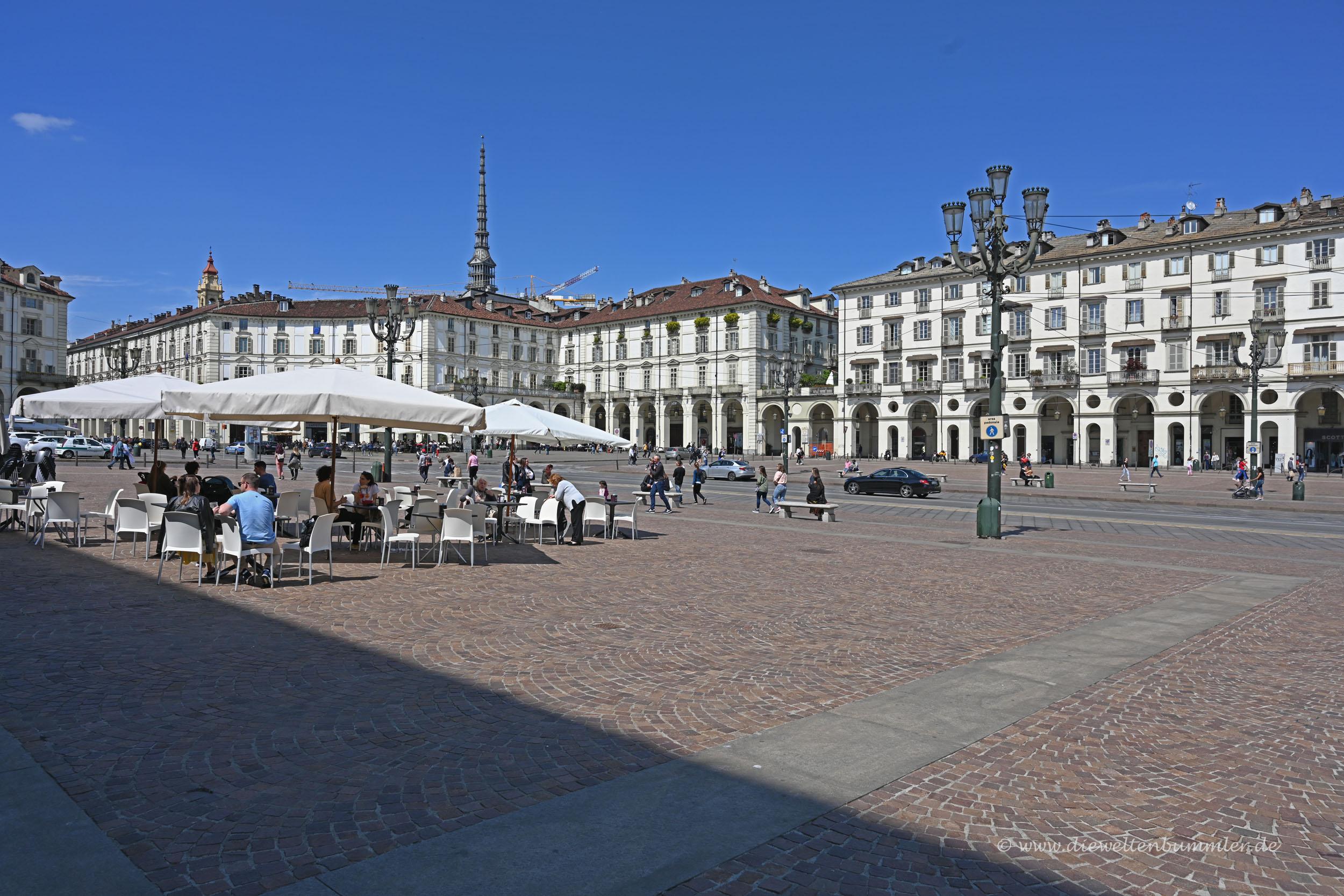Zentrum von Turin