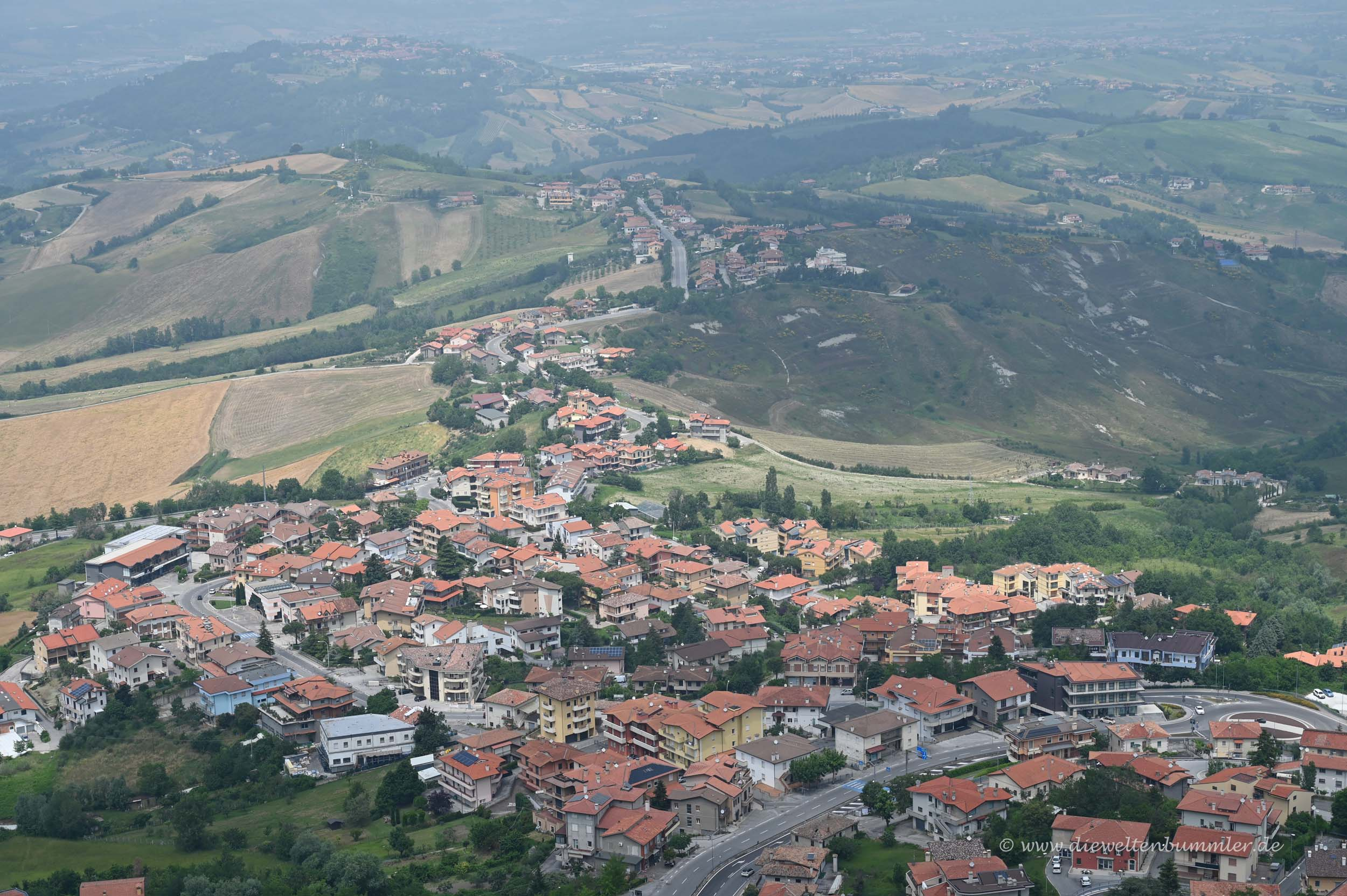 Ausblick auf San Marino