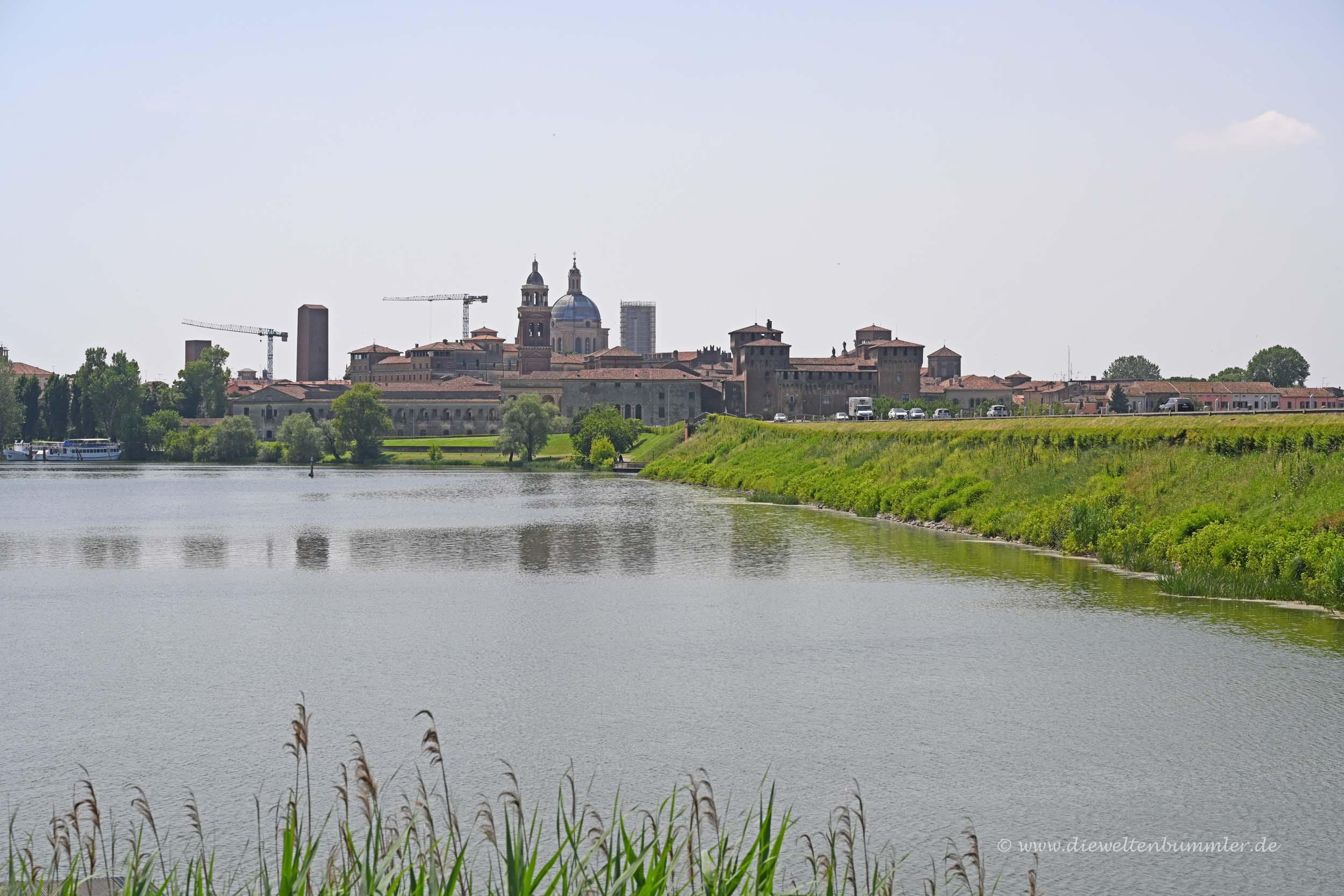 Blick nach Mantua