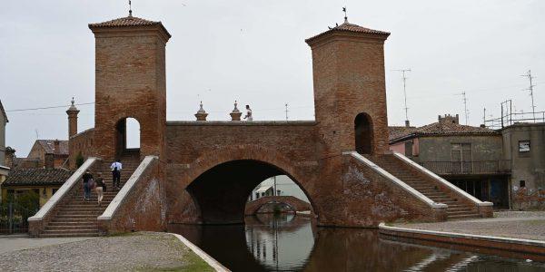Brücke in Comacchio