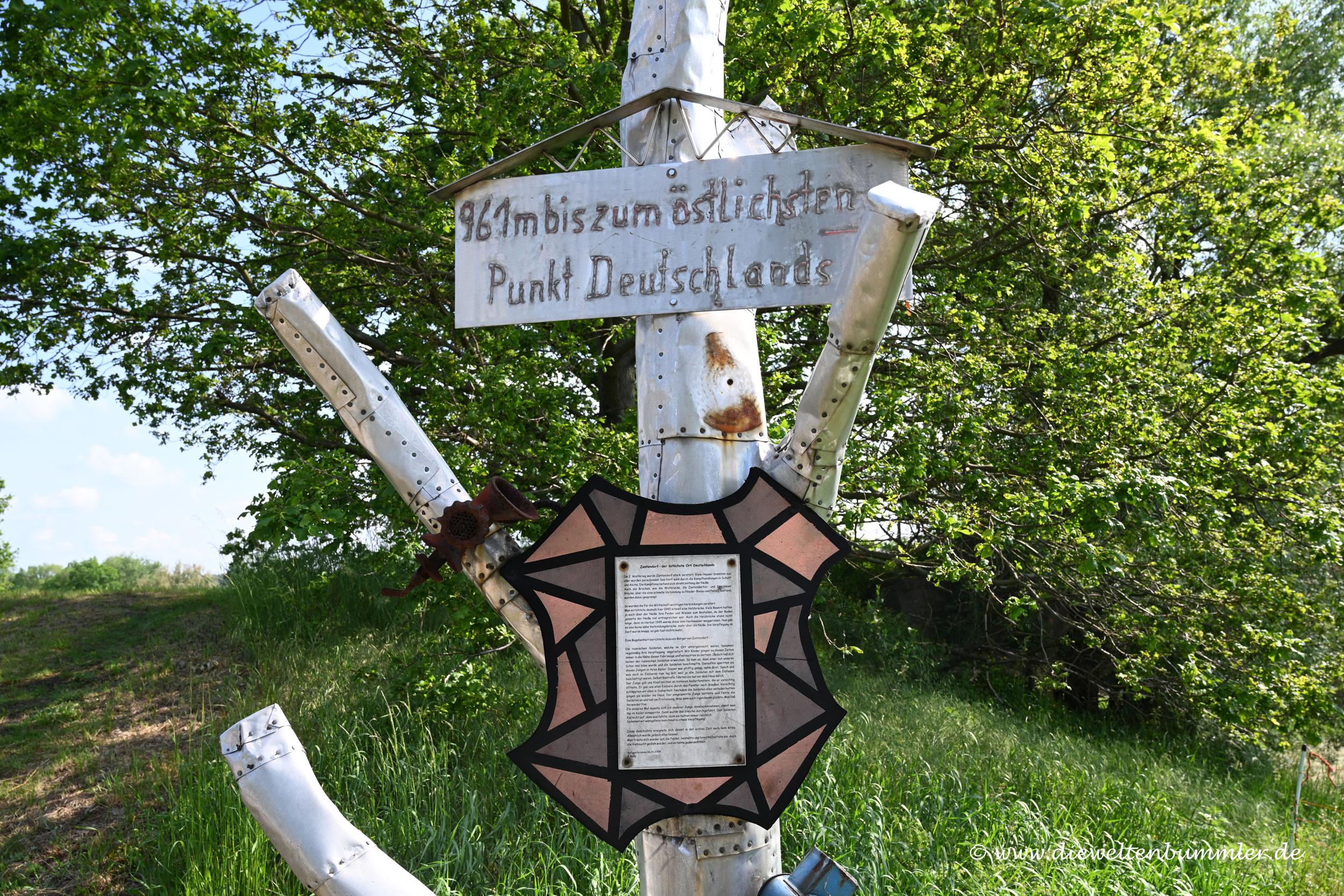 Das östlichste Dorf Deutschlands