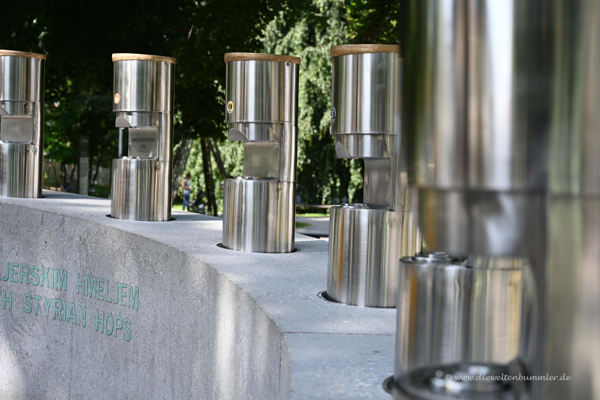 Einmaliger Bierbrunnen