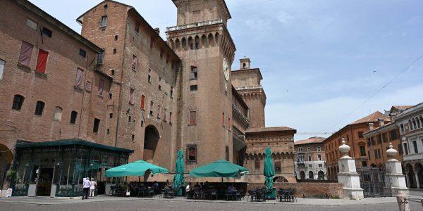 Ferraras Altstadt