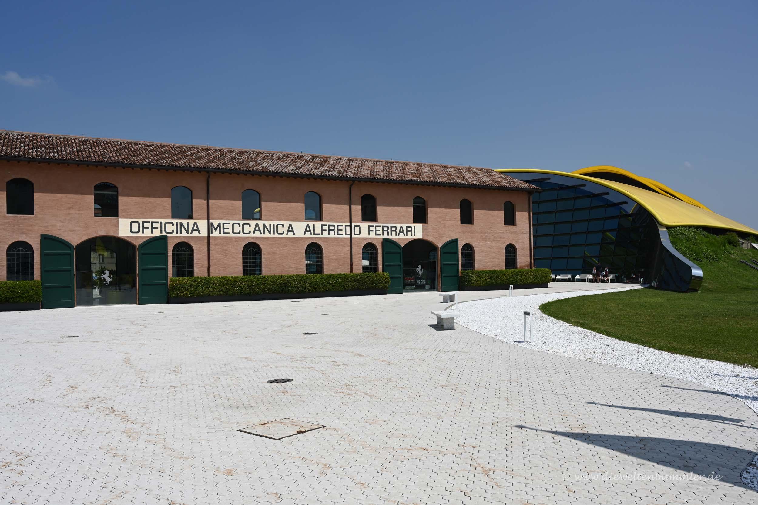 Ferrari-Museum in Modena