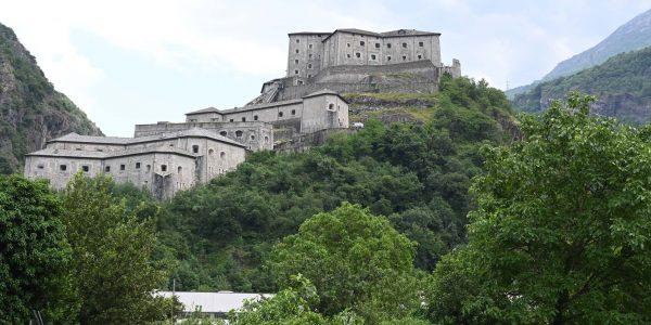 Festung in Bard im Aostatal