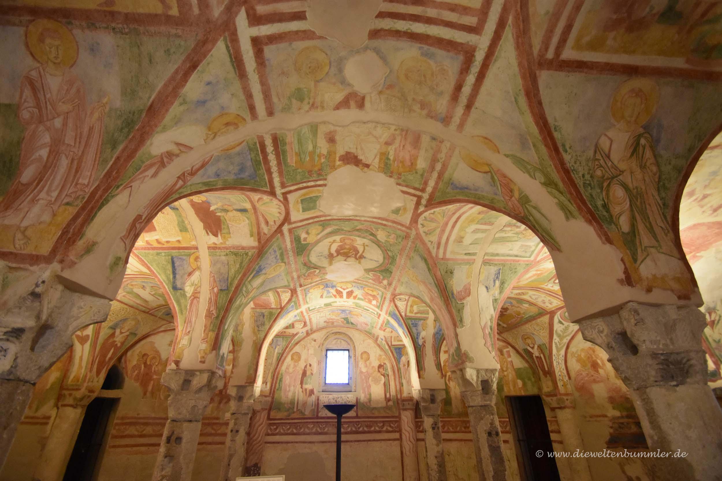 Fresken in Aquileia