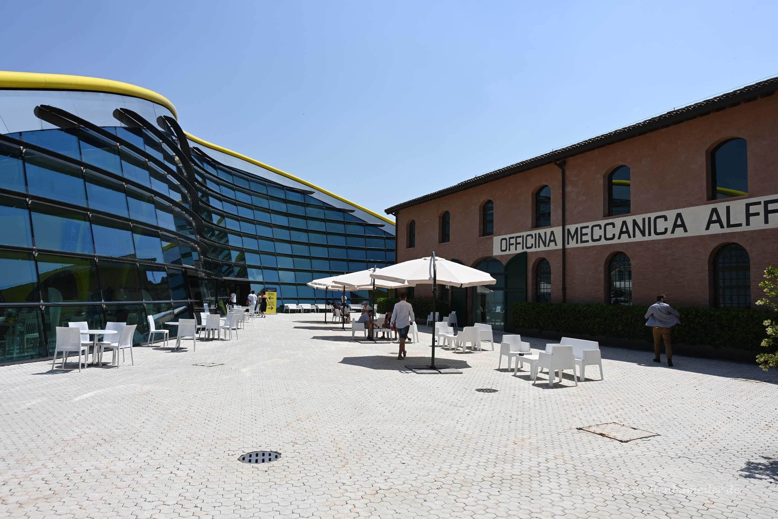 Hier startete Enzo Ferrari