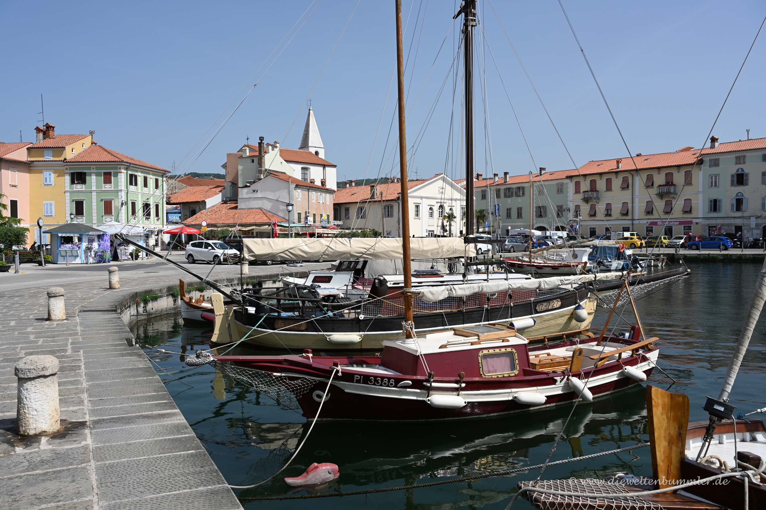 Kleiner Hafen in Izola