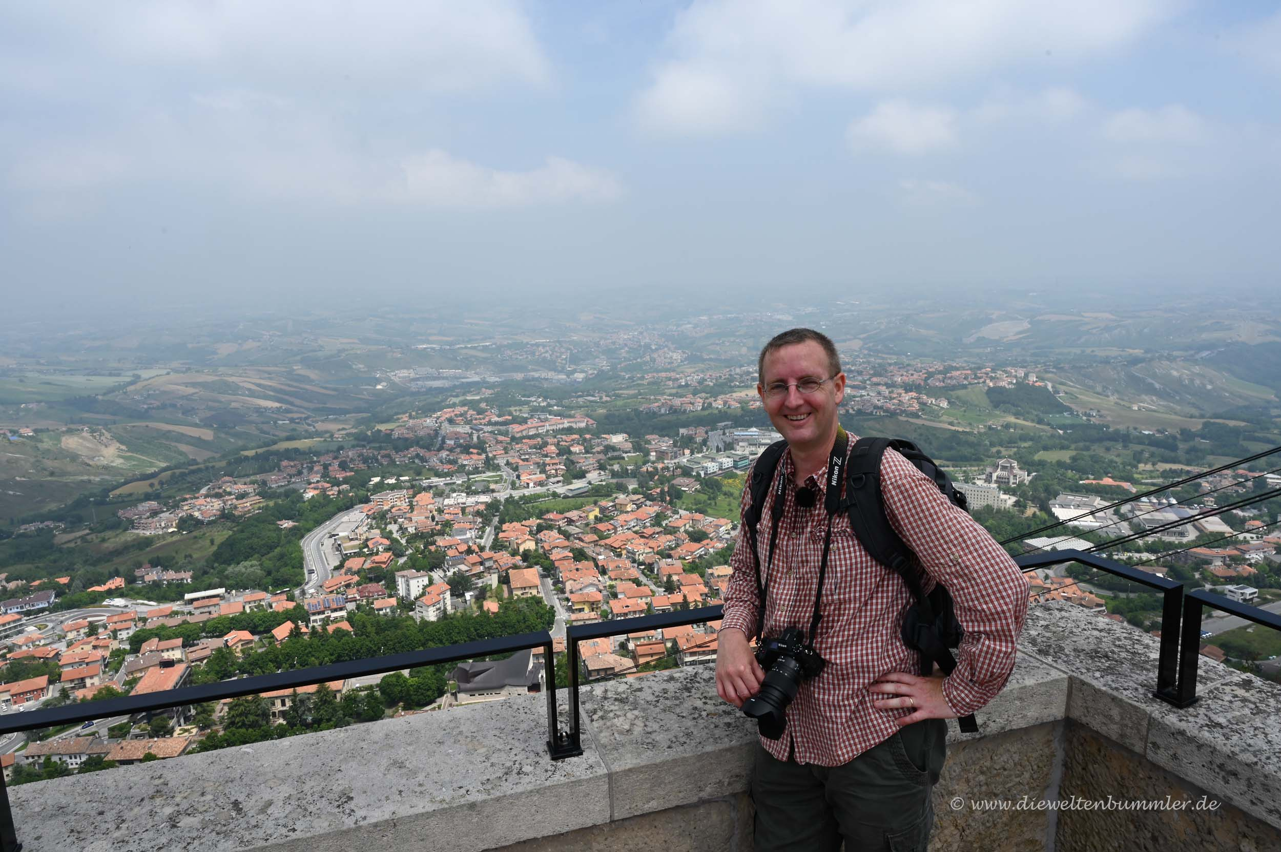 Michael Moll in San Marino